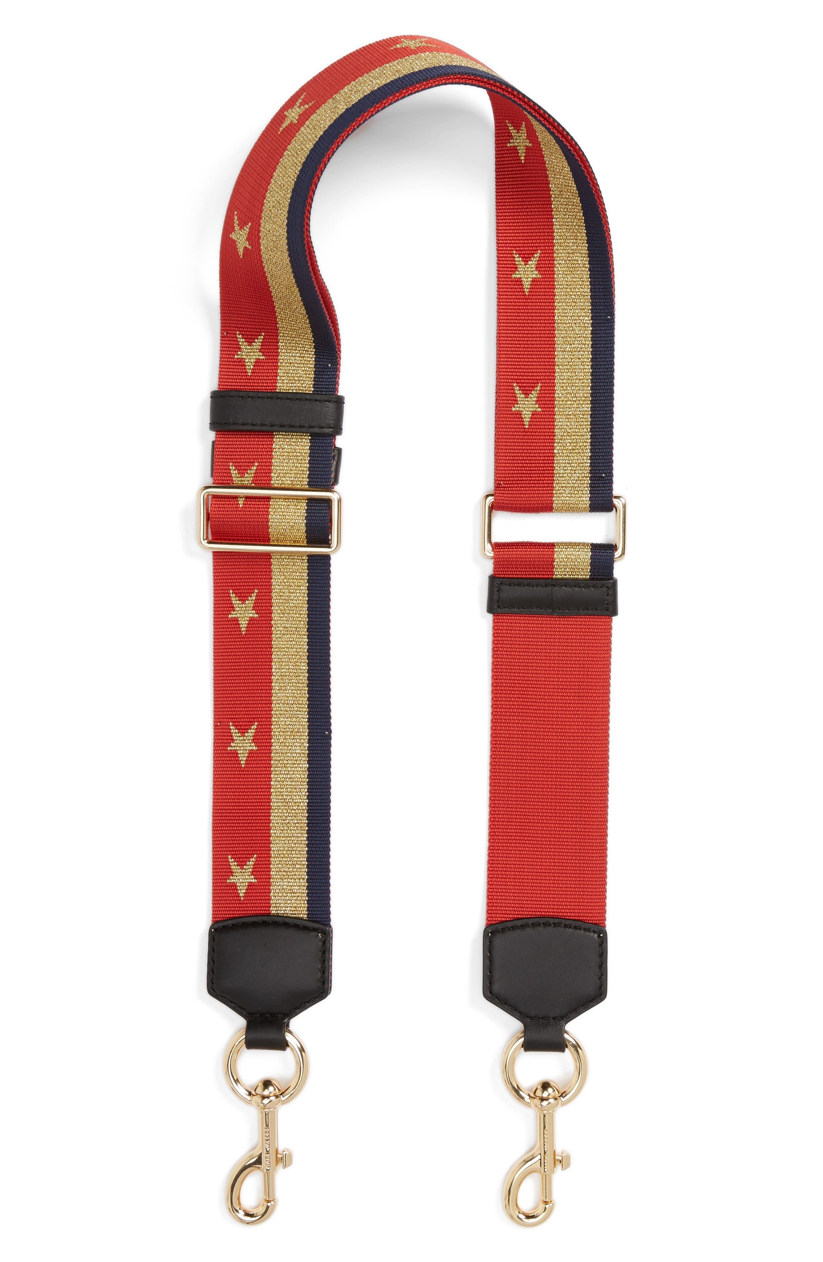 MARC JACOBS Stars & Stripes Guitar Bag Strap