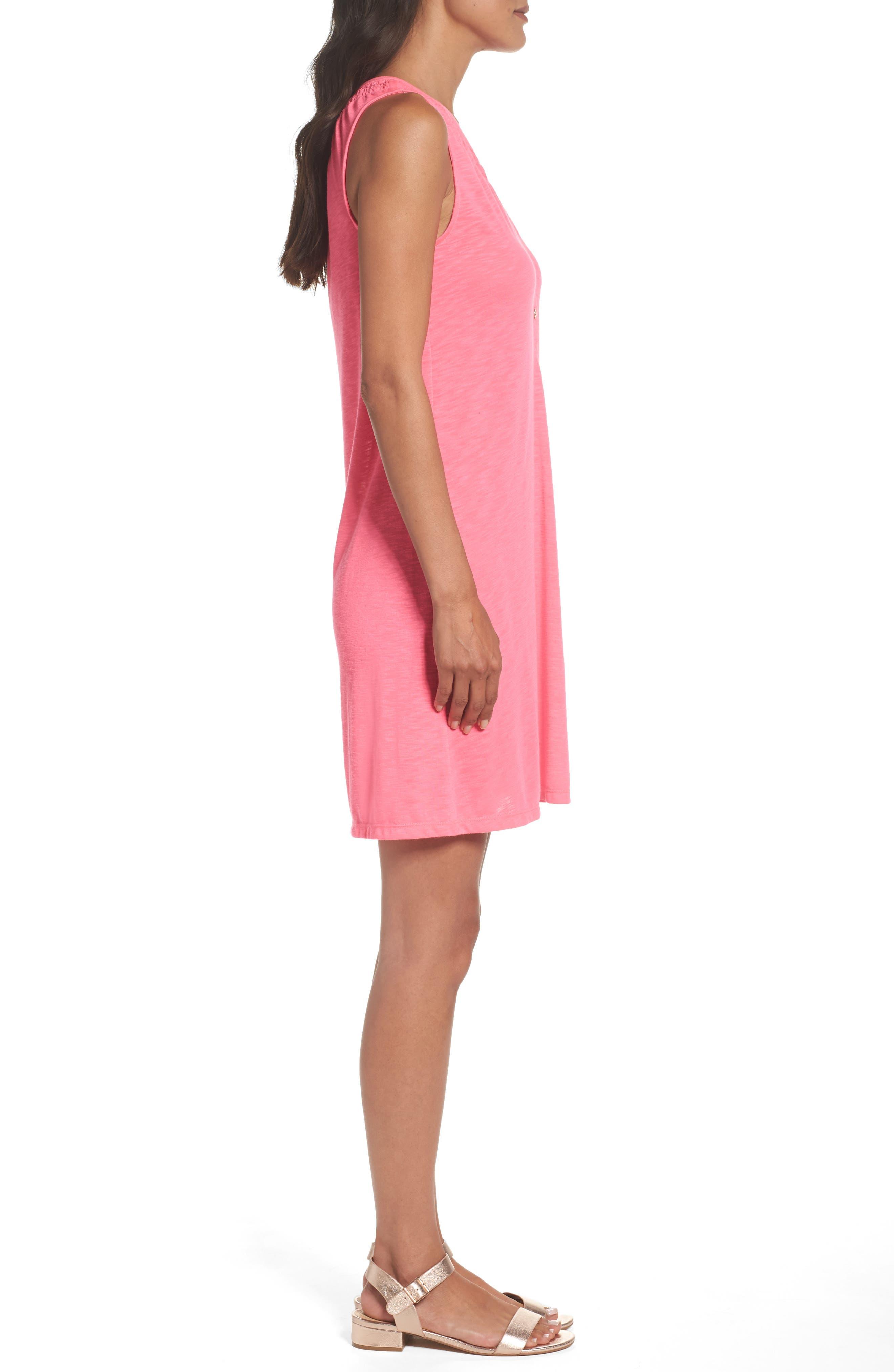 Alternate Image 3  - Lilly Pulitzer® 'Essie' Cotton & Modal A-Line Dress