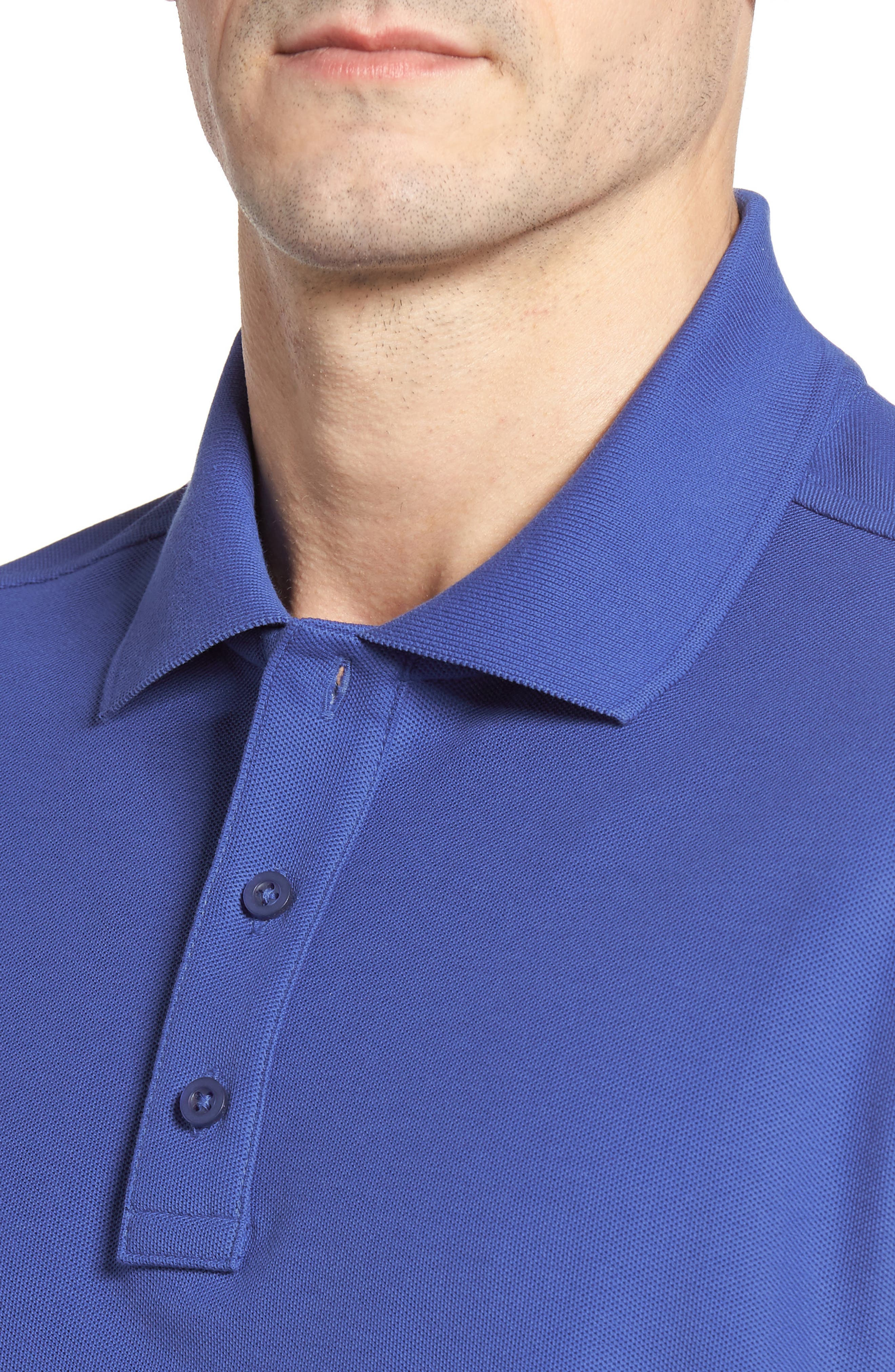 Alternate Image 4  - Nordstrom Men's Shop 'Classic' Regular Fit Piqué Polo