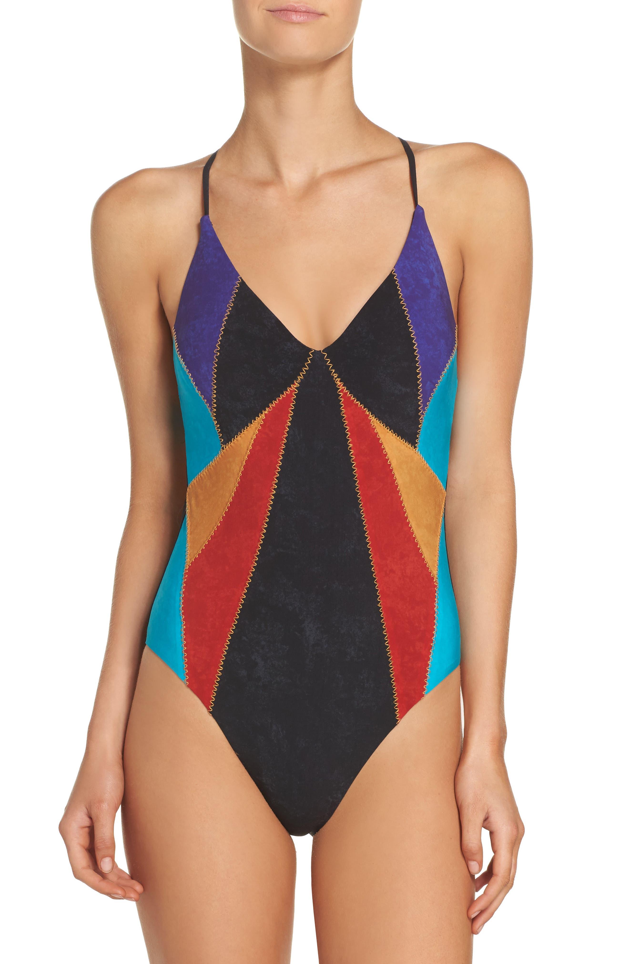 Nanette Lepore Goddess One-Piece Swimsuit