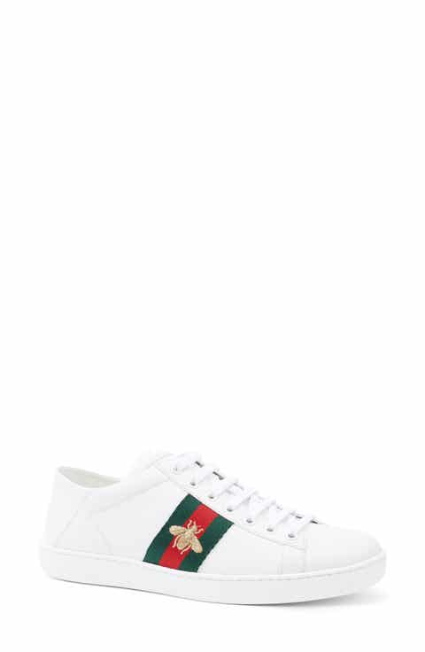 Gucci New Ace Convertible Heel Sneaker (Women)