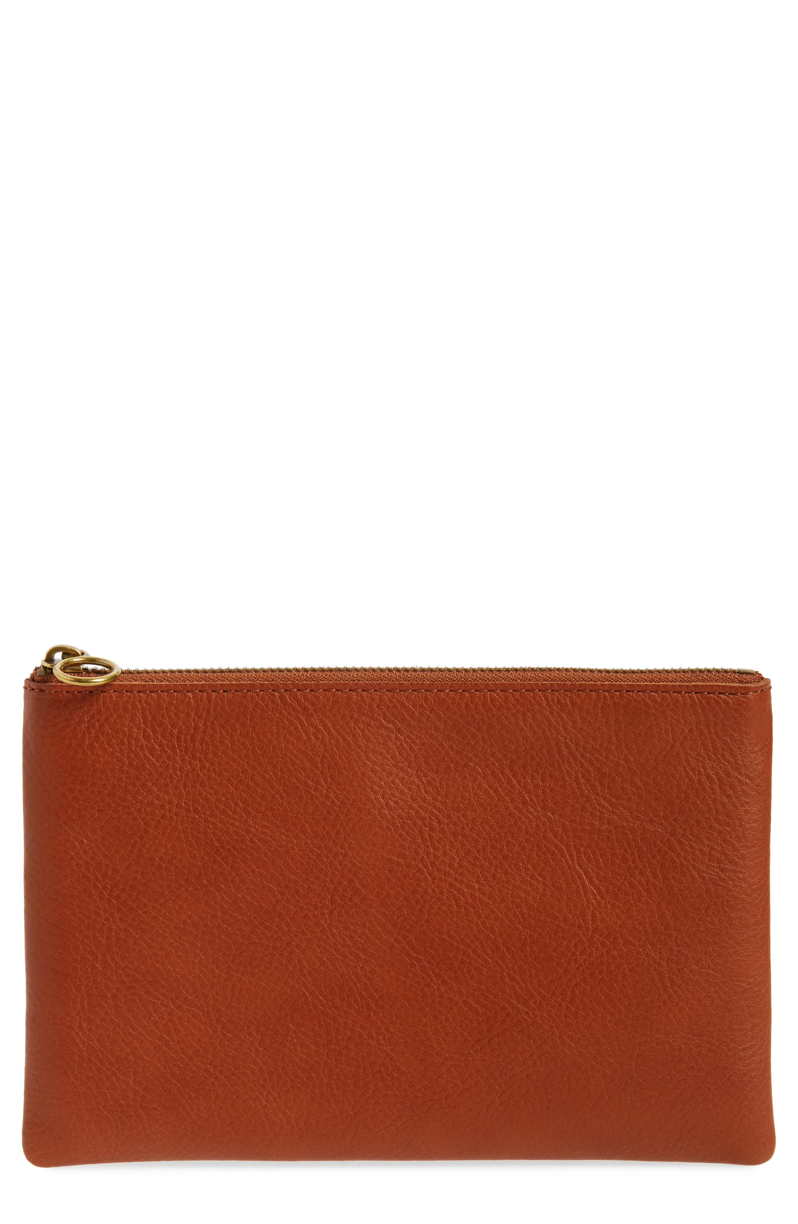 Madewell Medium Victory Leather Pouch