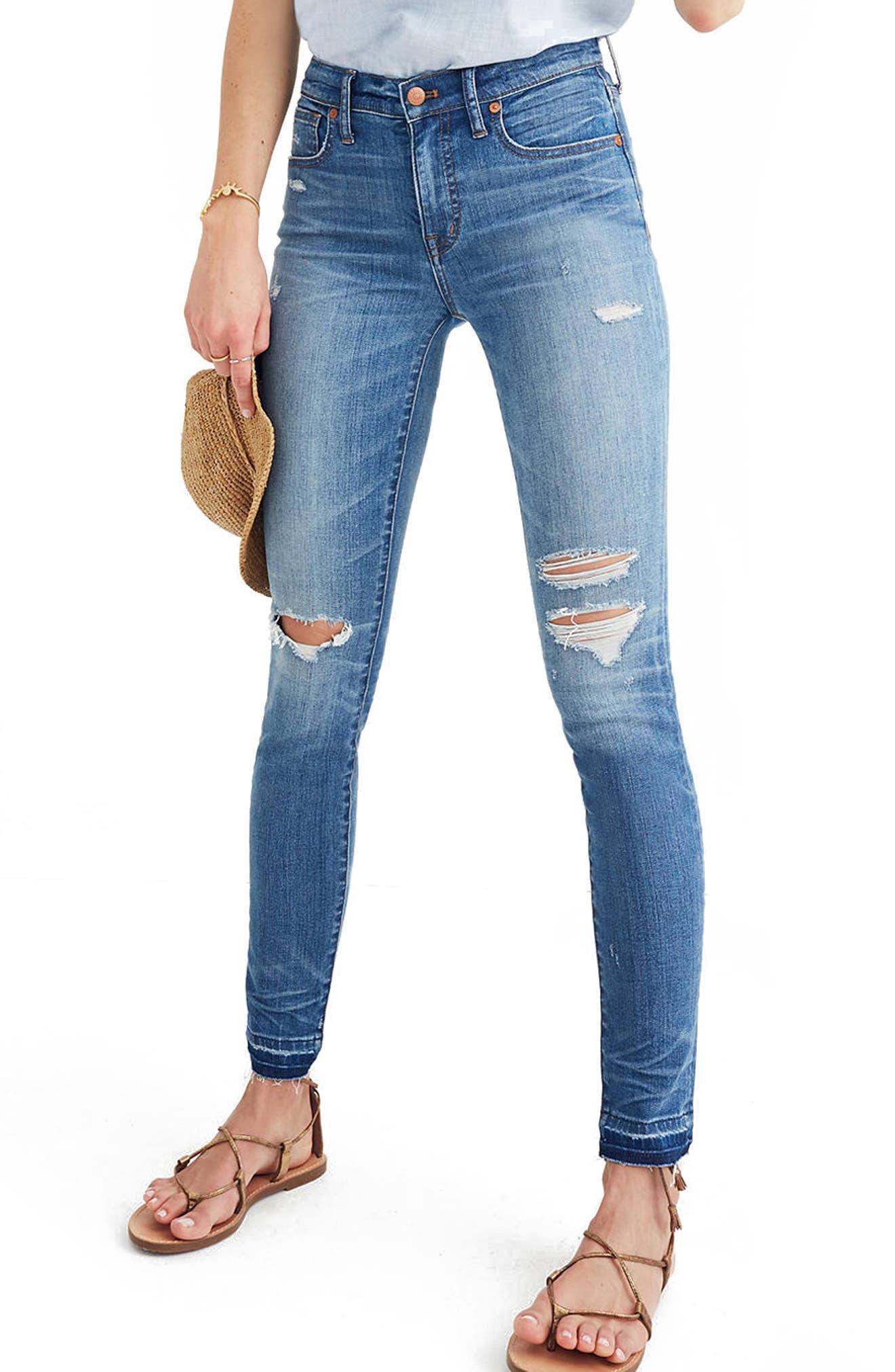 Madewell High Rise Skinny Jeans (Winifred)