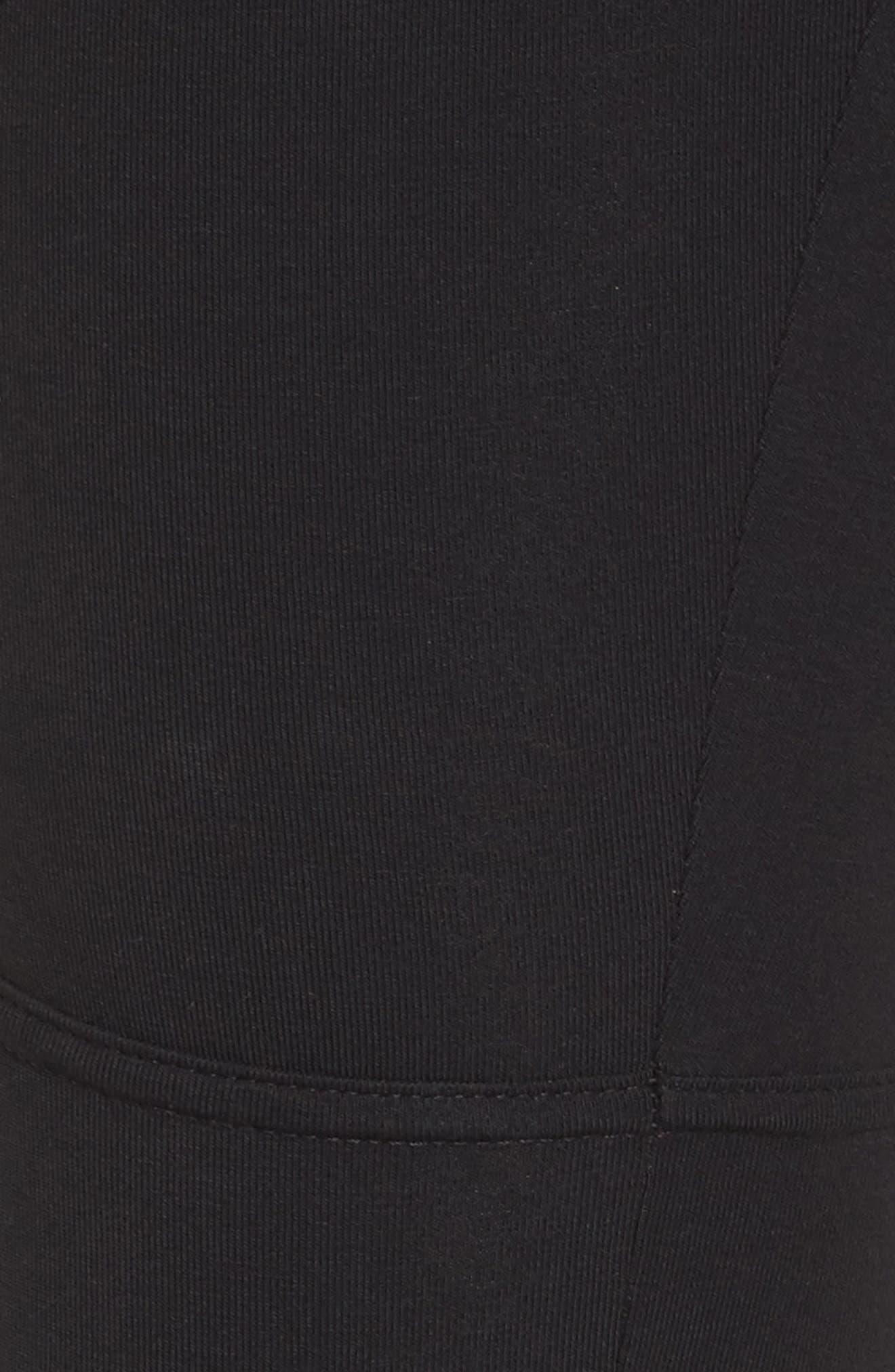 Alternate Image 5  - BP. Faux Leather Mixed Moto Leggings
