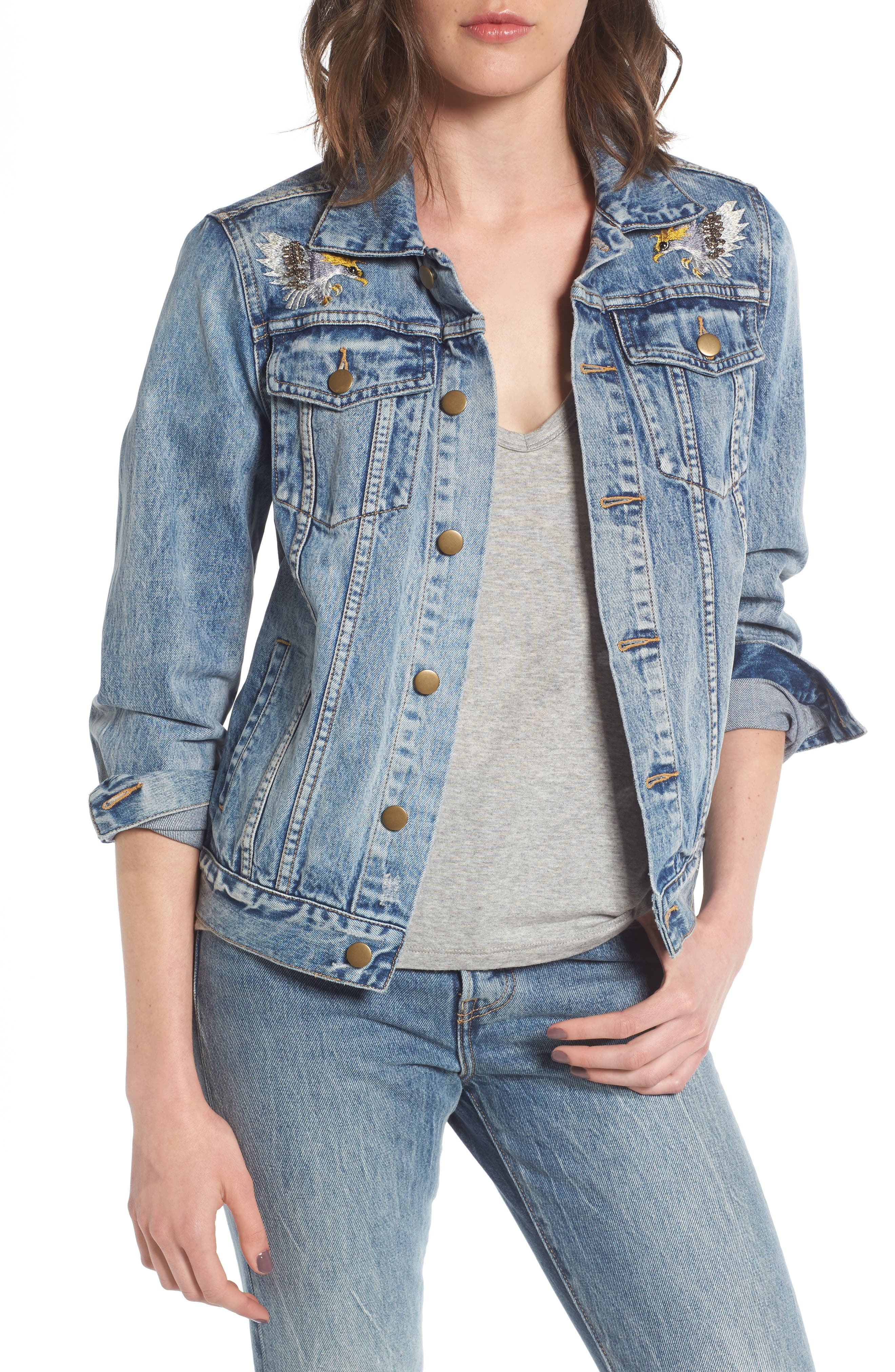 Pam & Gela Patch Denim Jacket