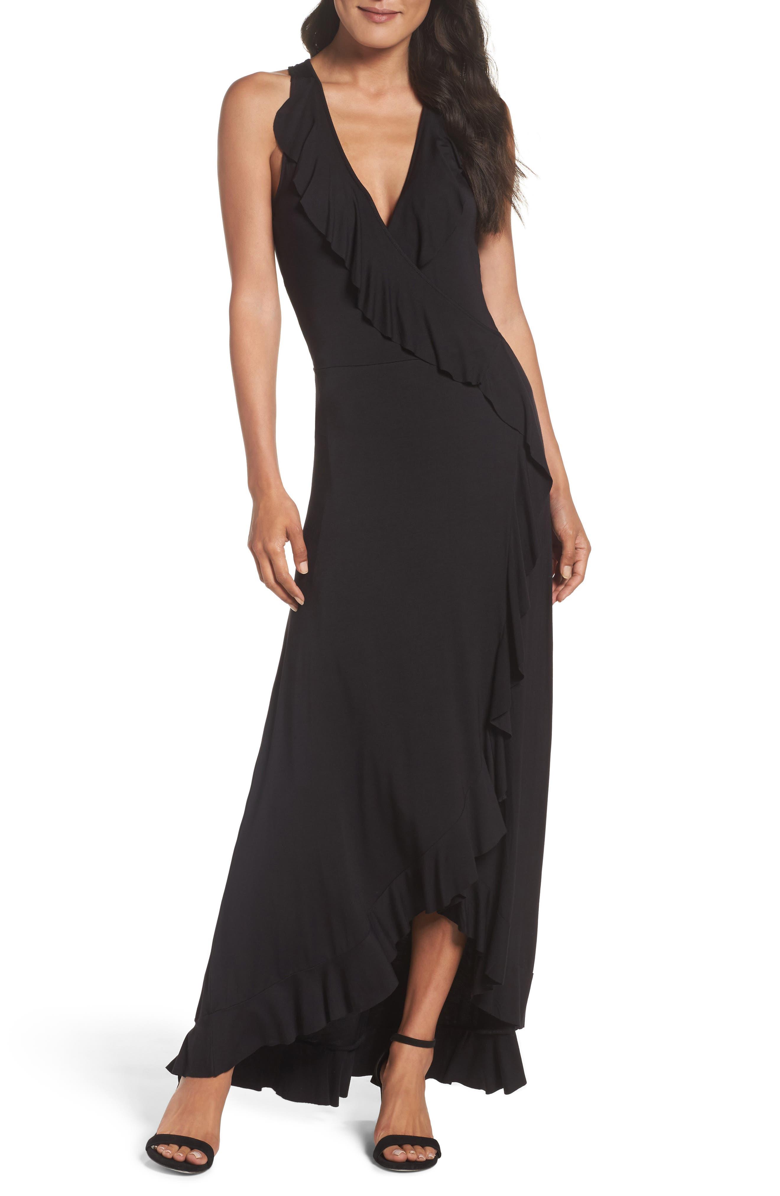 Felicity & Coco Ruffle Maxi Dress (Regular & Petite) (Nordstrom Exclusive)