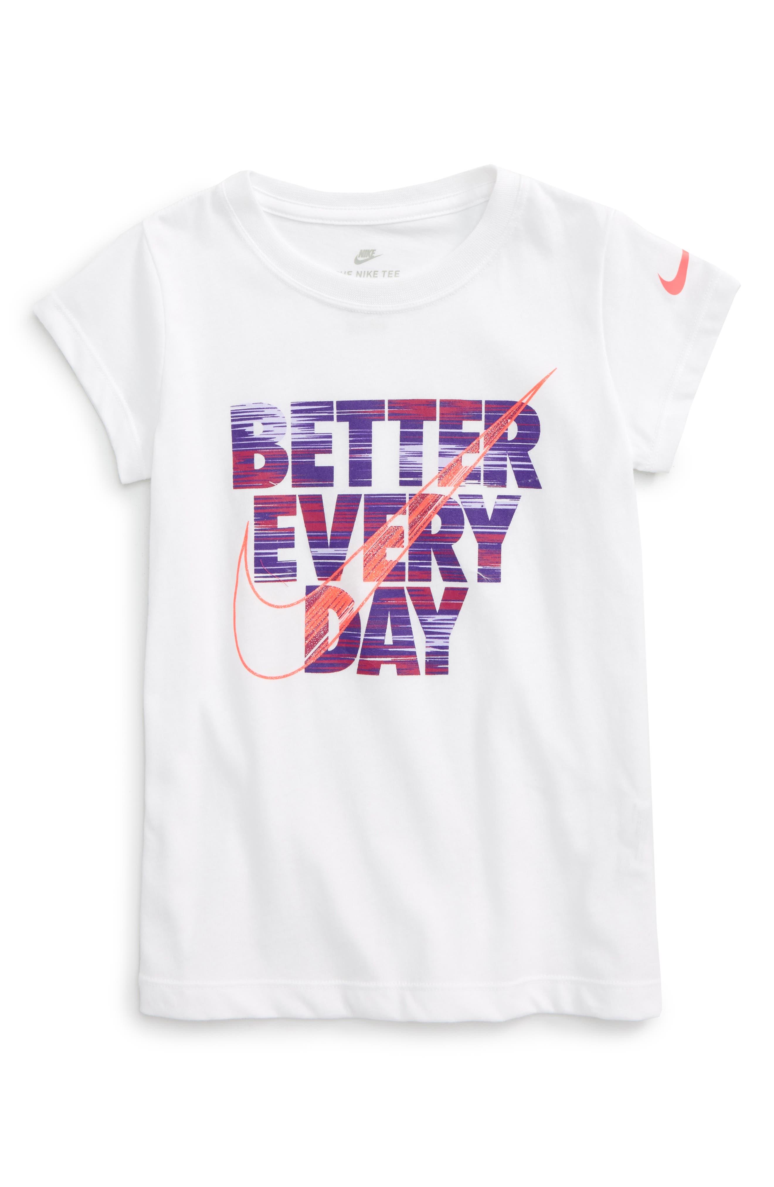 Nike Better Everyday Graphic Tee (Toddler Girls & Little Girls)