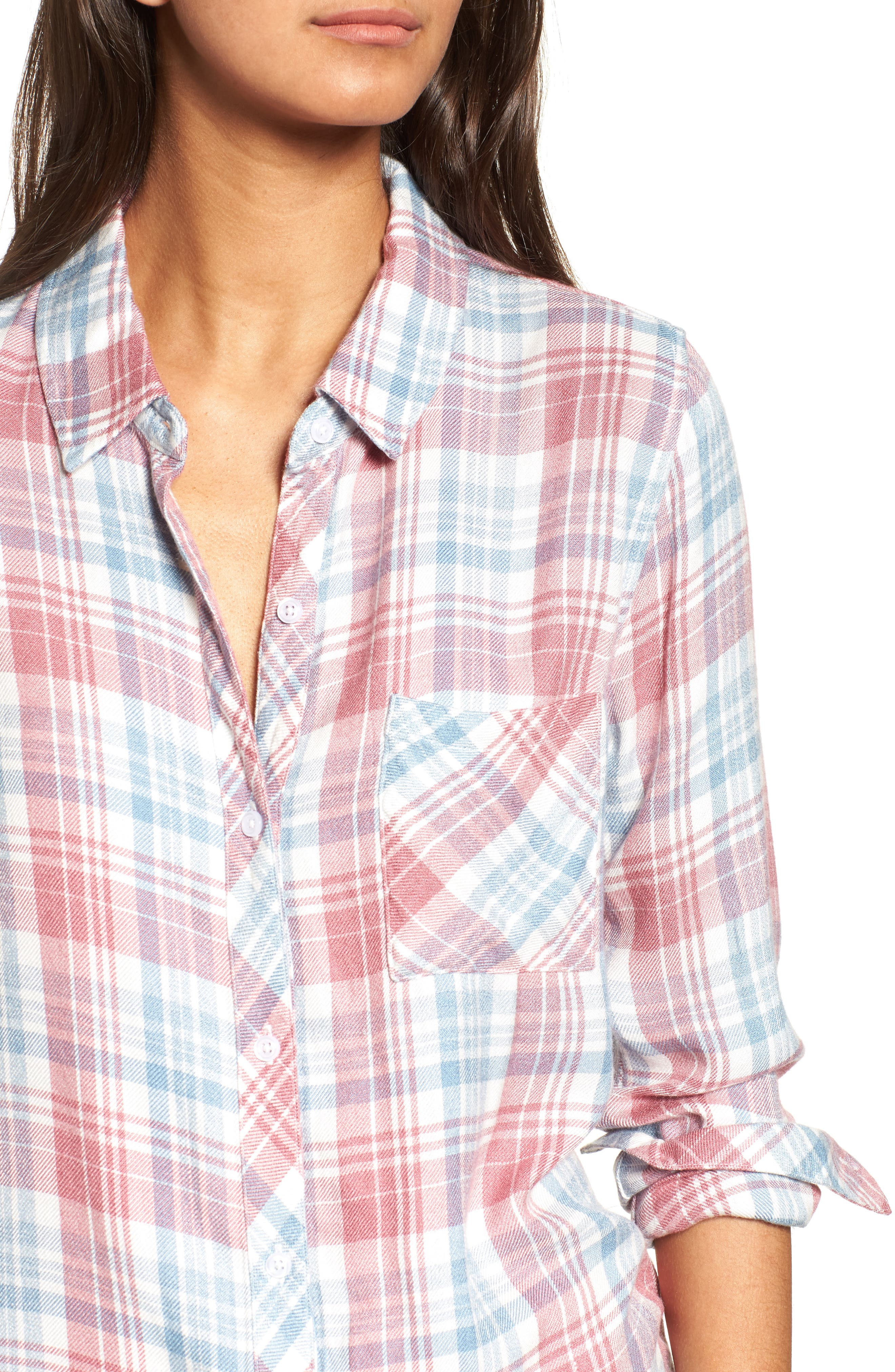 Alternate Image 4  - Rails Hunter Plaid Shirt