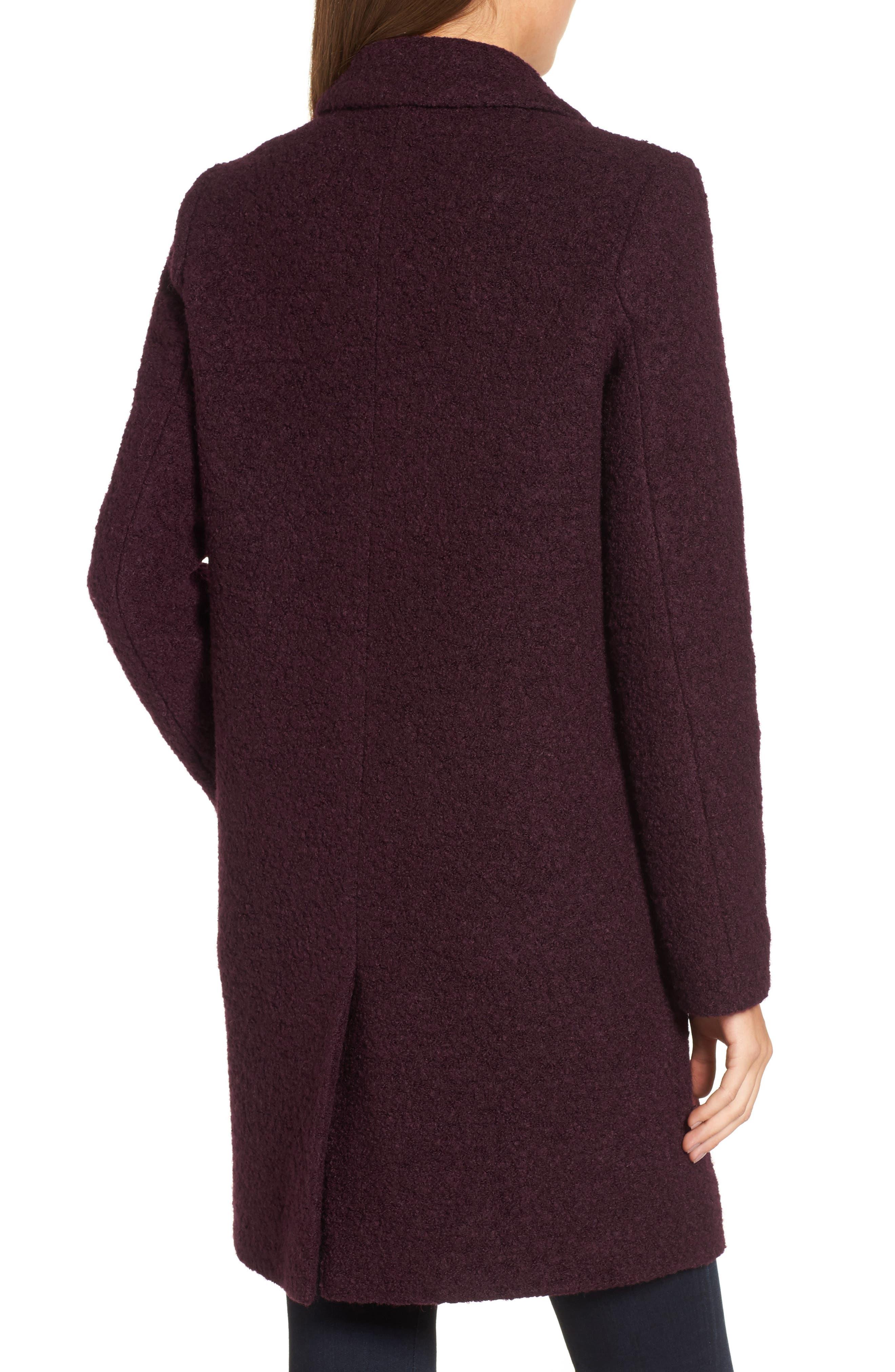 Alternate Image 2  - Andrew Marc Paige Wool Blend Bouclé Coat
