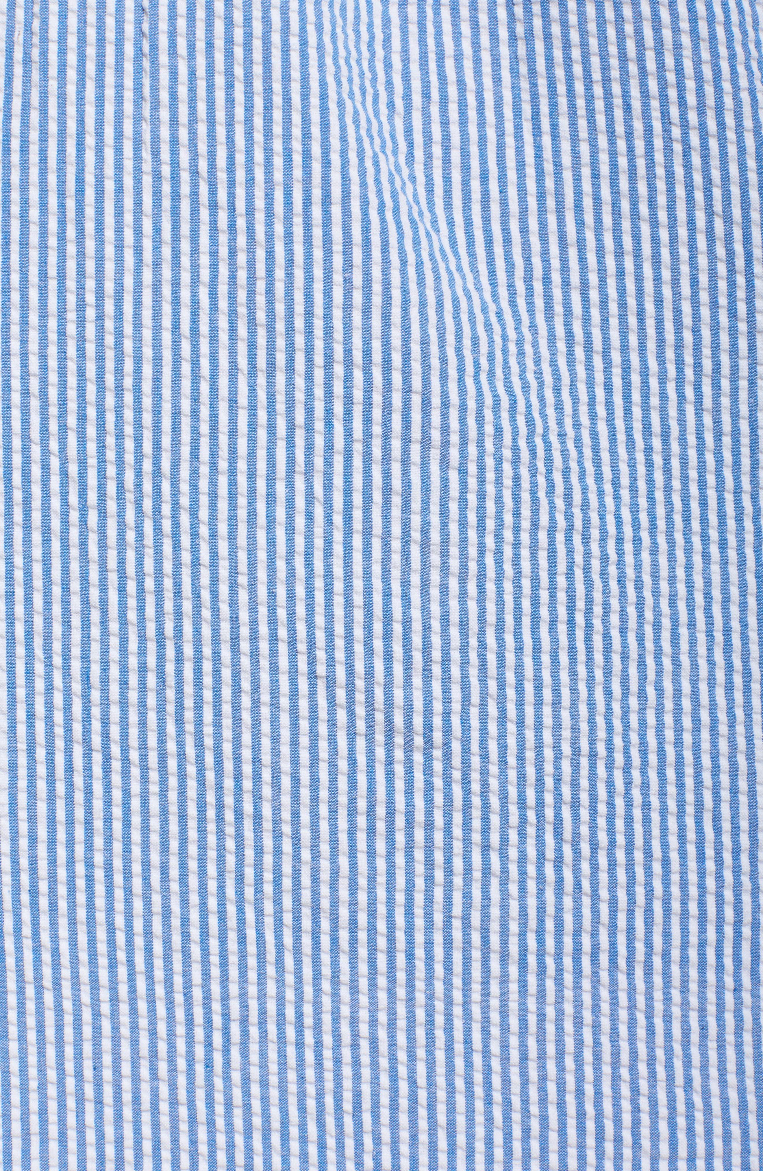 Alternate Image 5  - French Connection Belle Stripe Shift Dress