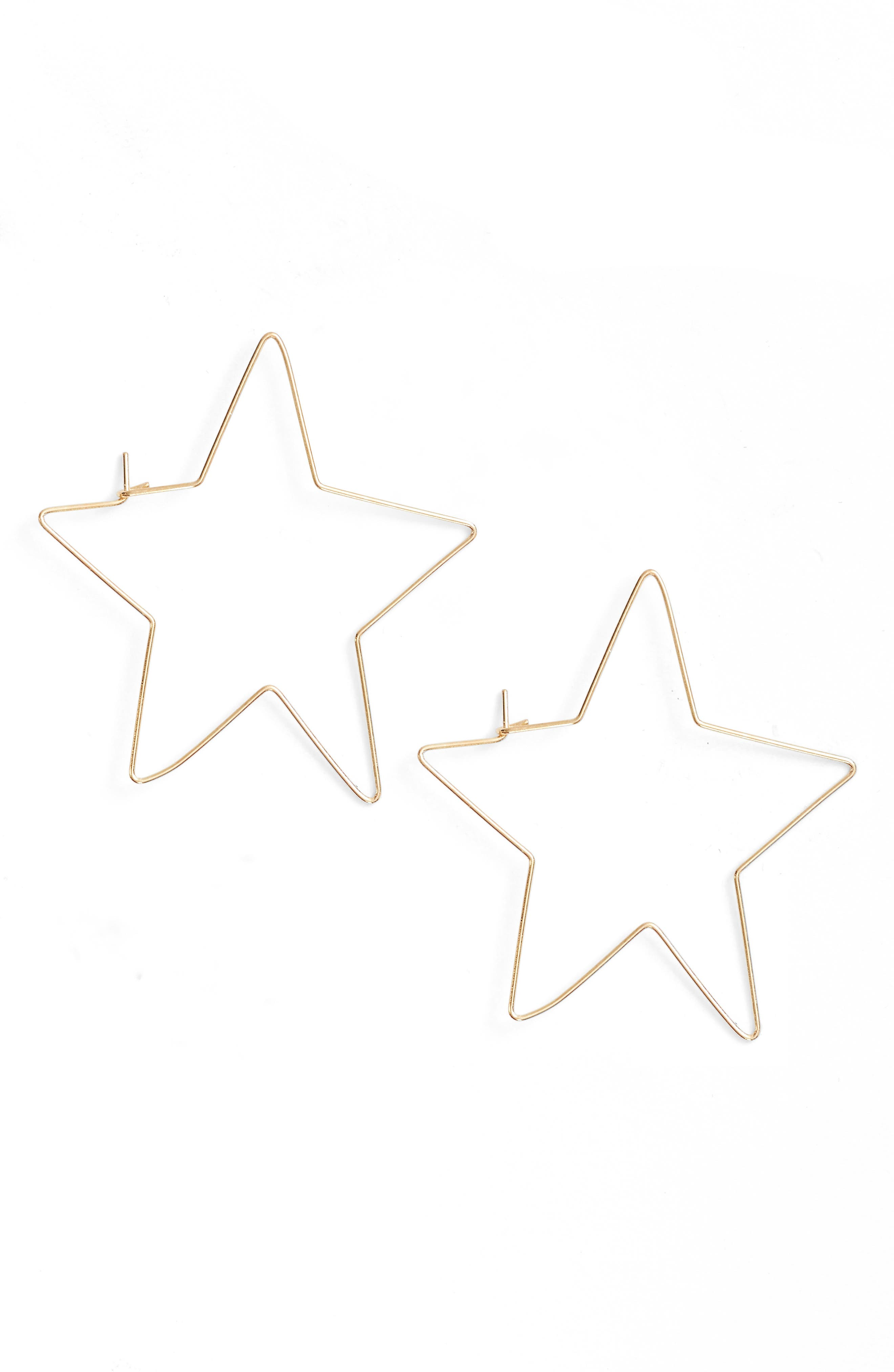 Ettika Star Earrings
