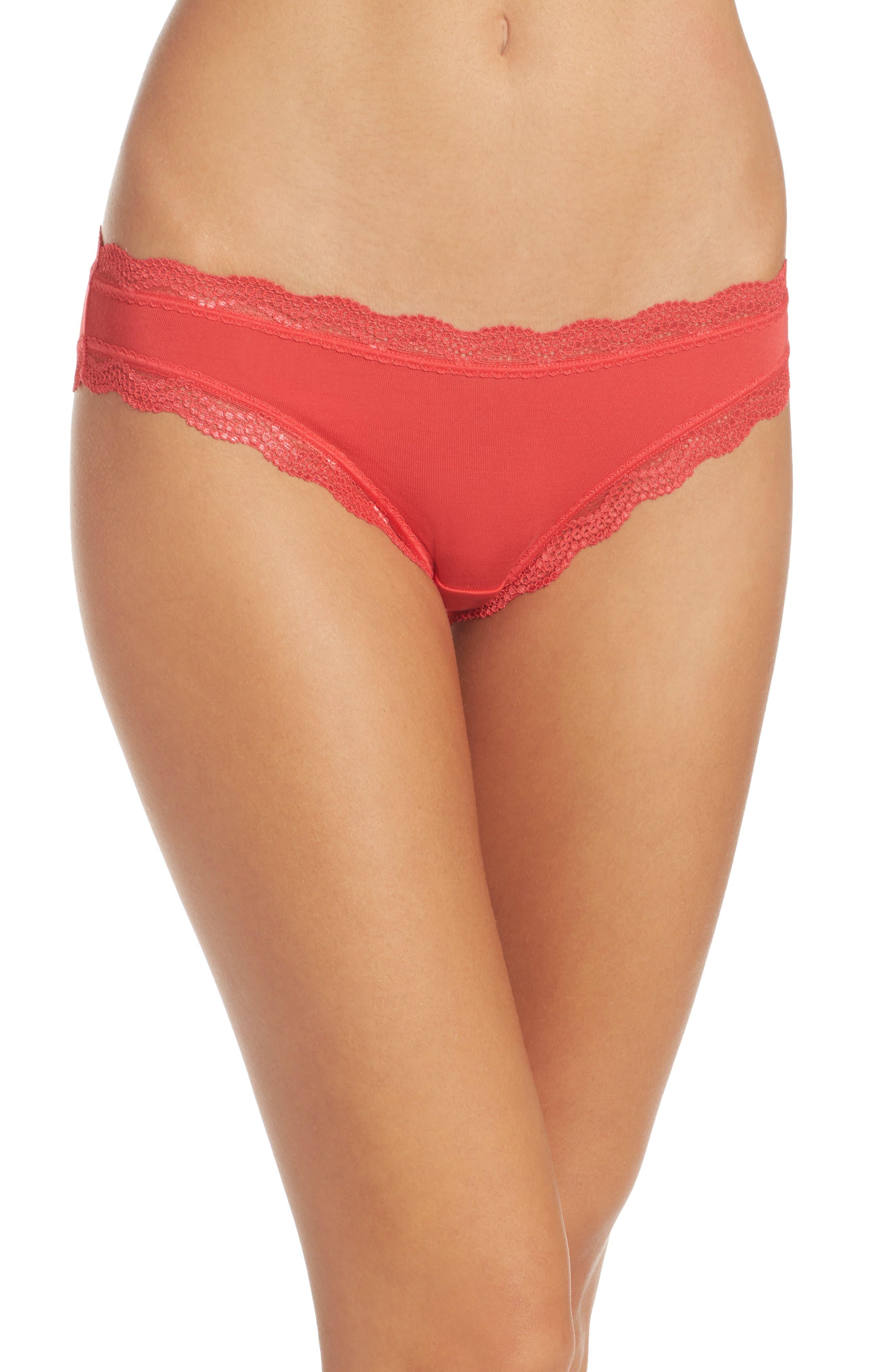 Cheekfrills Lace Trim Bikini