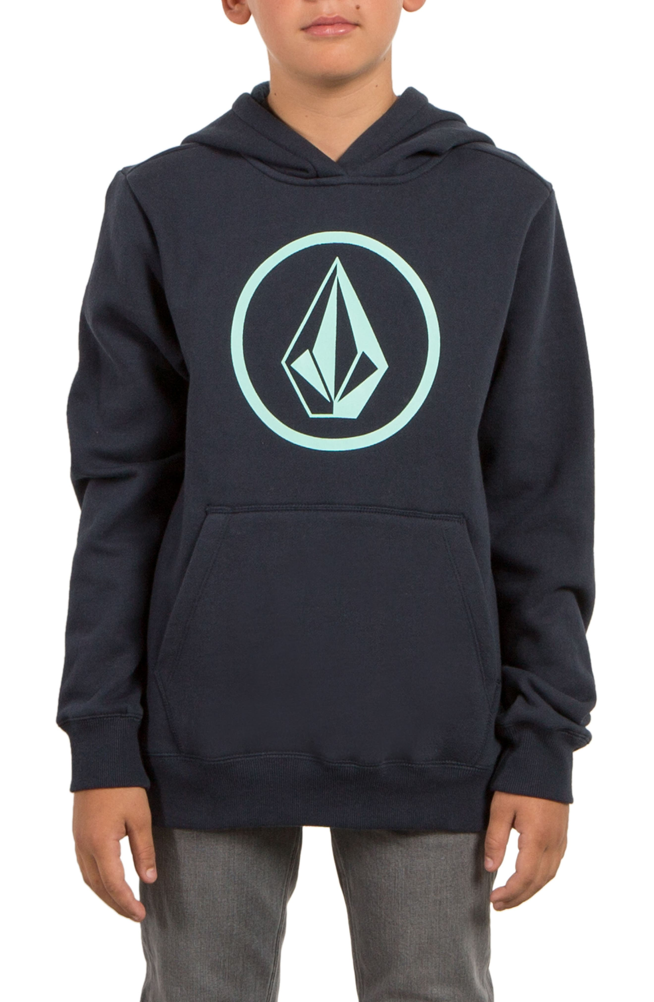 Volcom Stone Fleece Hoodie (Big Boys)