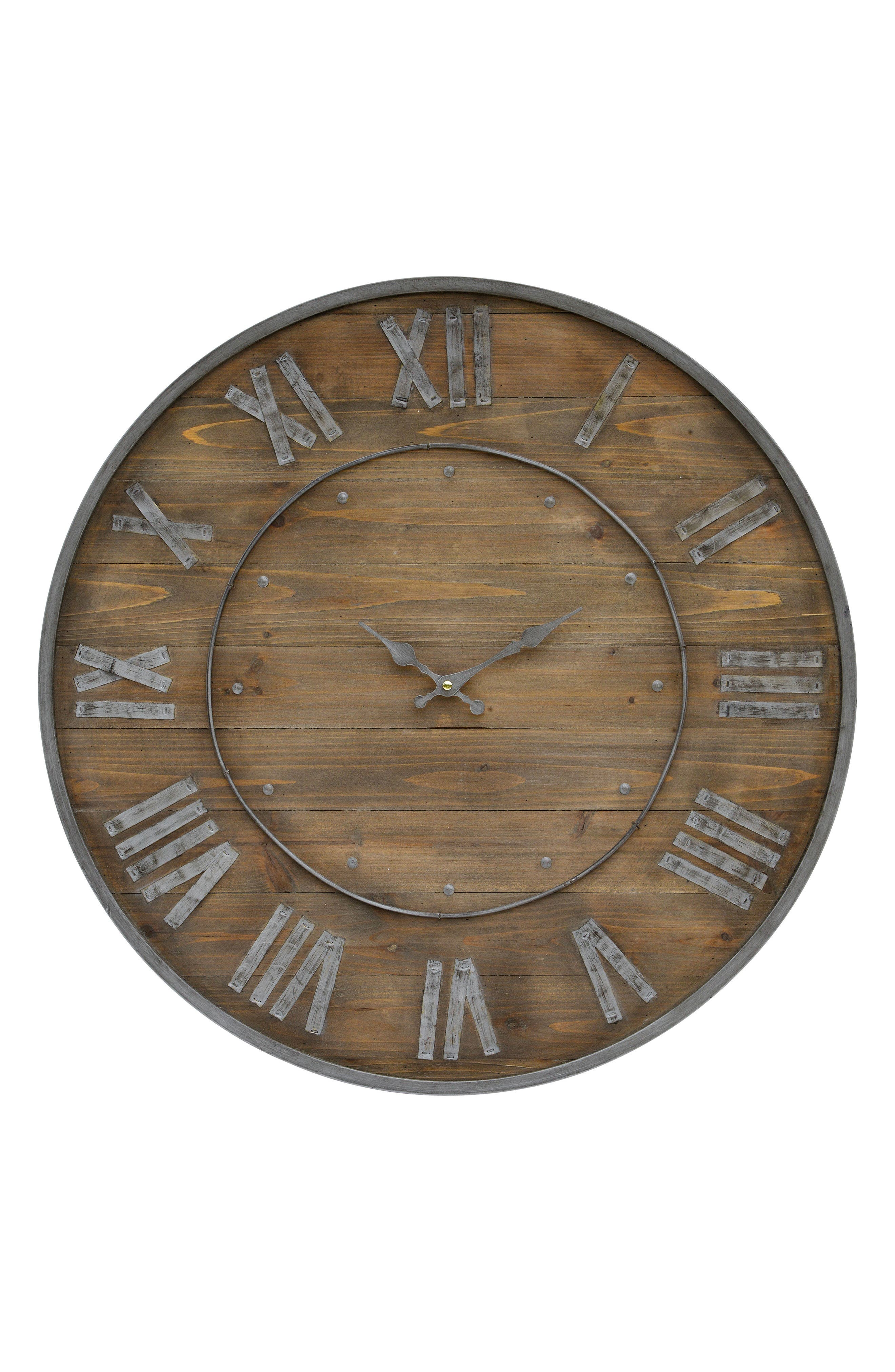 Renwil Wooden Wall Clock