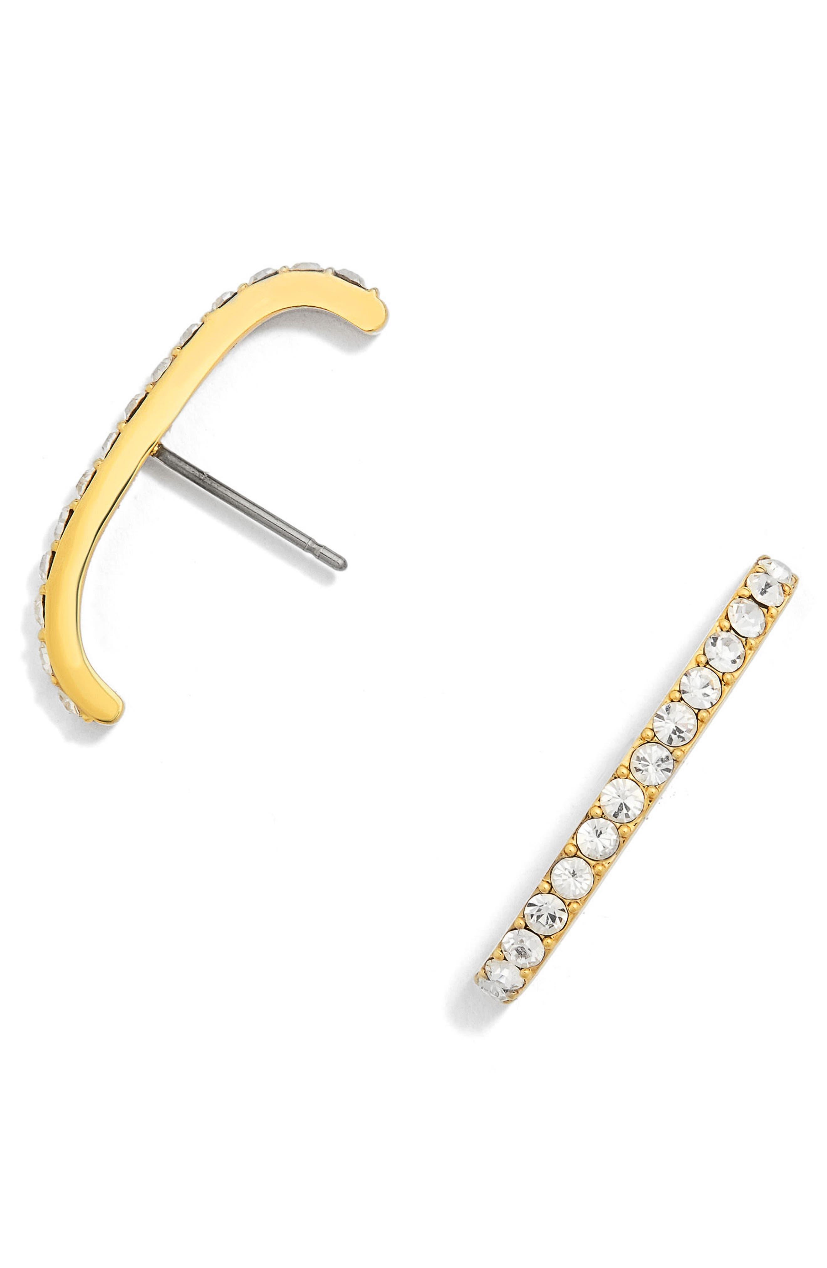 BaubleBar Elle Crystal Earrings