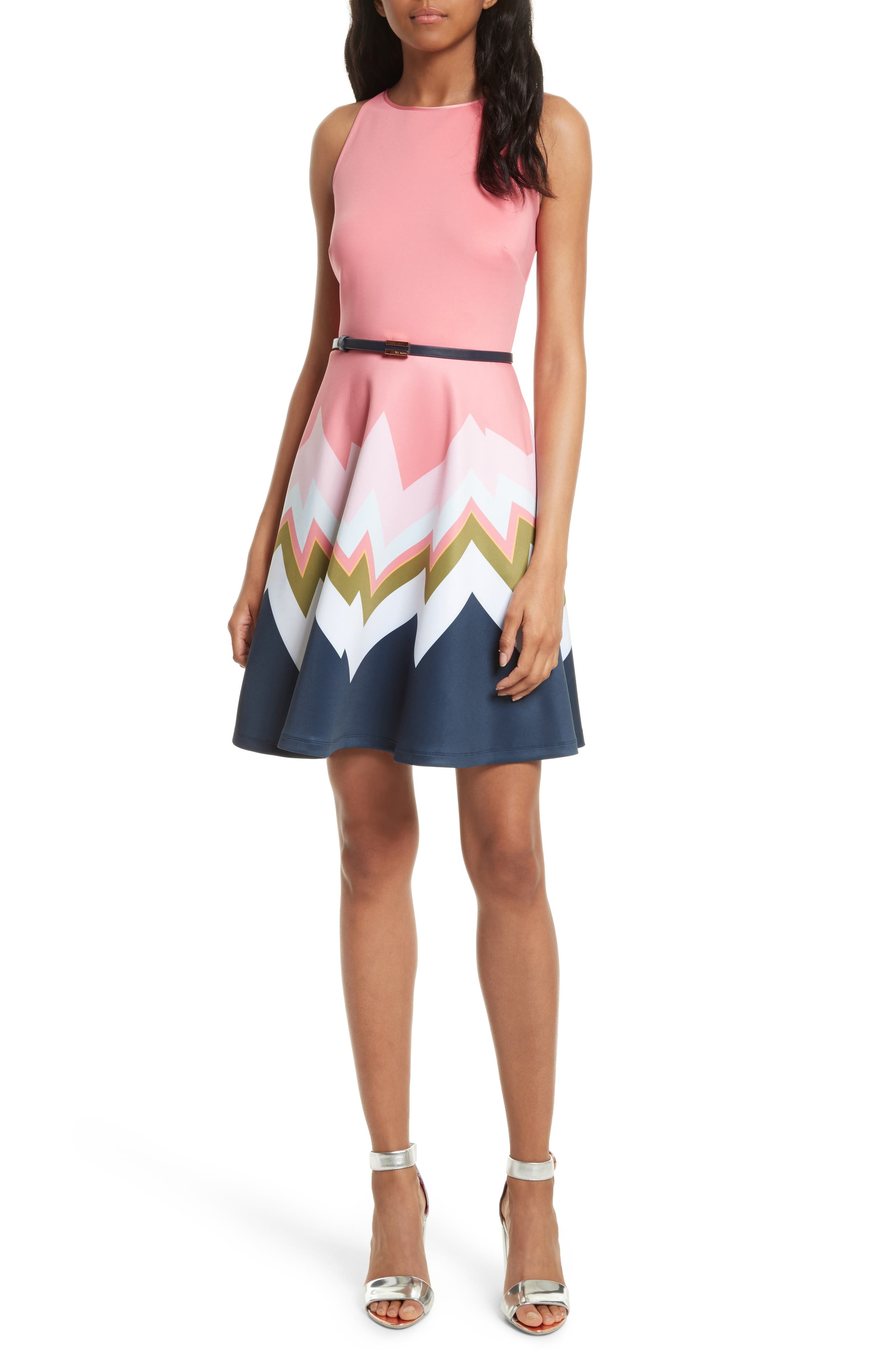 Alternate Image 1 Selected - Ted Baker London Aurella Mississippi Skater Dress
