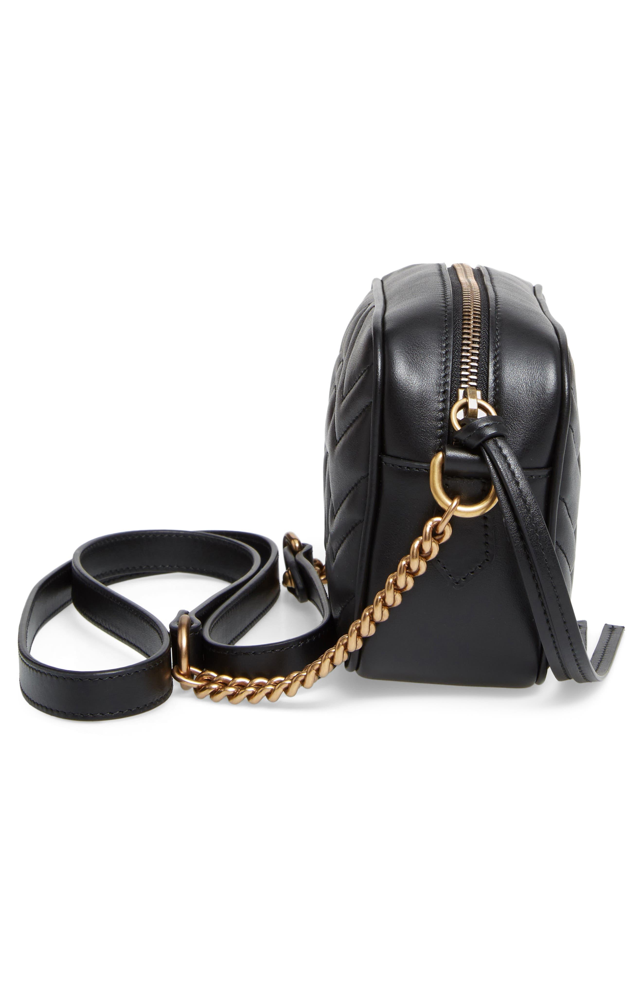 Alternate Image 5  - Gucci GG Marmont 2.0 Matelassé Leather Shoulder Bag