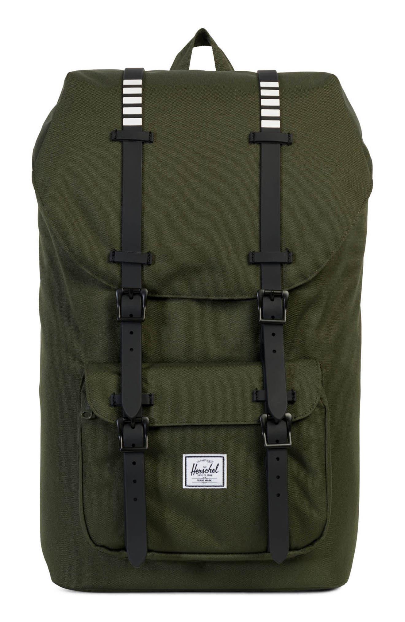 Herschel Supply Co. Little America Rugby Stripe Backpack