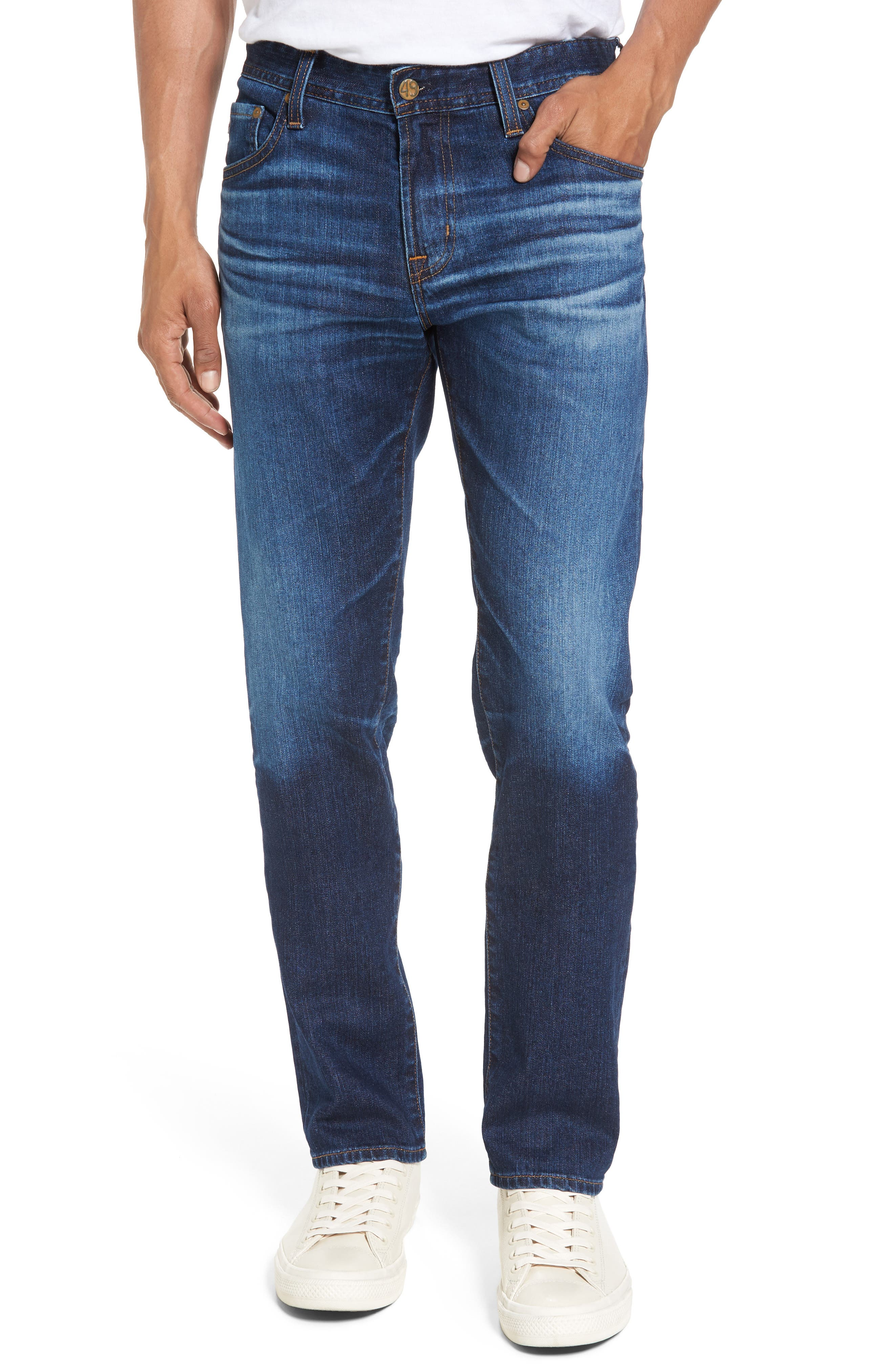 AG Jeans Tellis Slim Fit Jeans (6 Years Projector Destroyed)