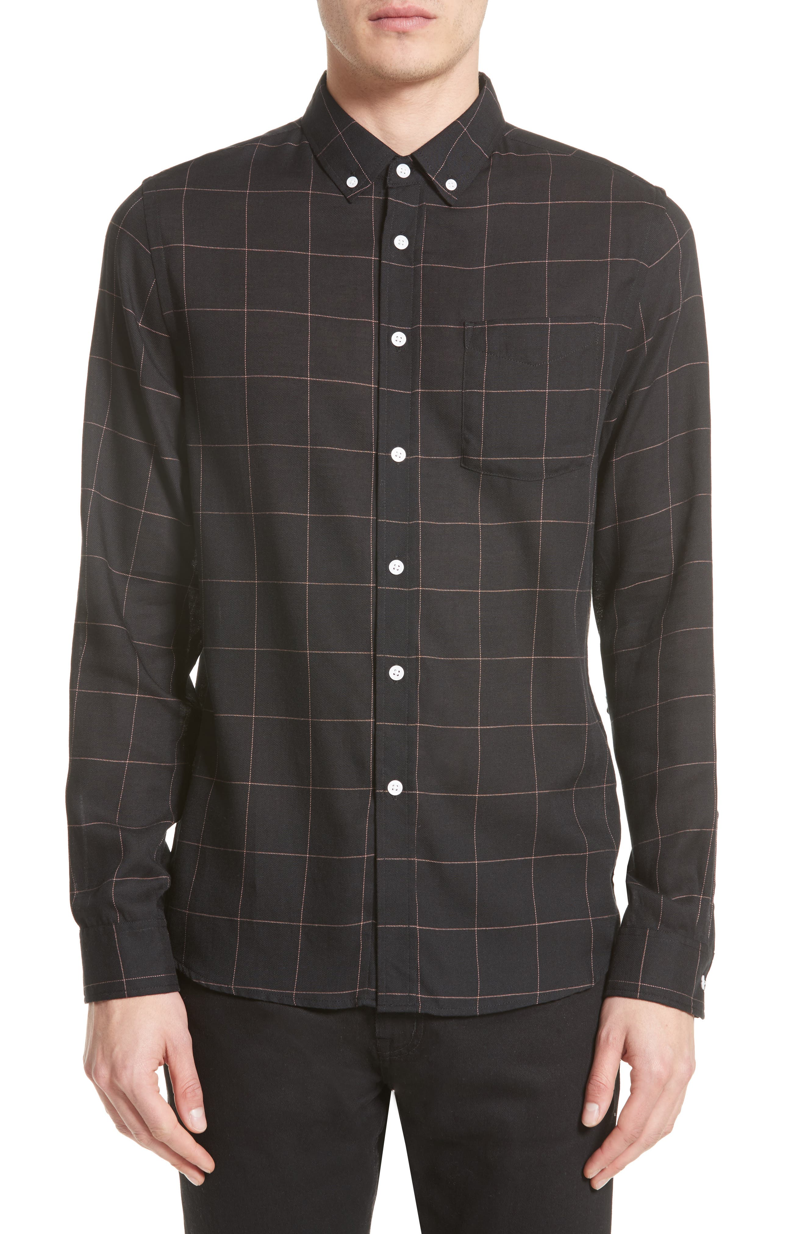 Saturdays NYC Crosby Tattersall Sport Shirt