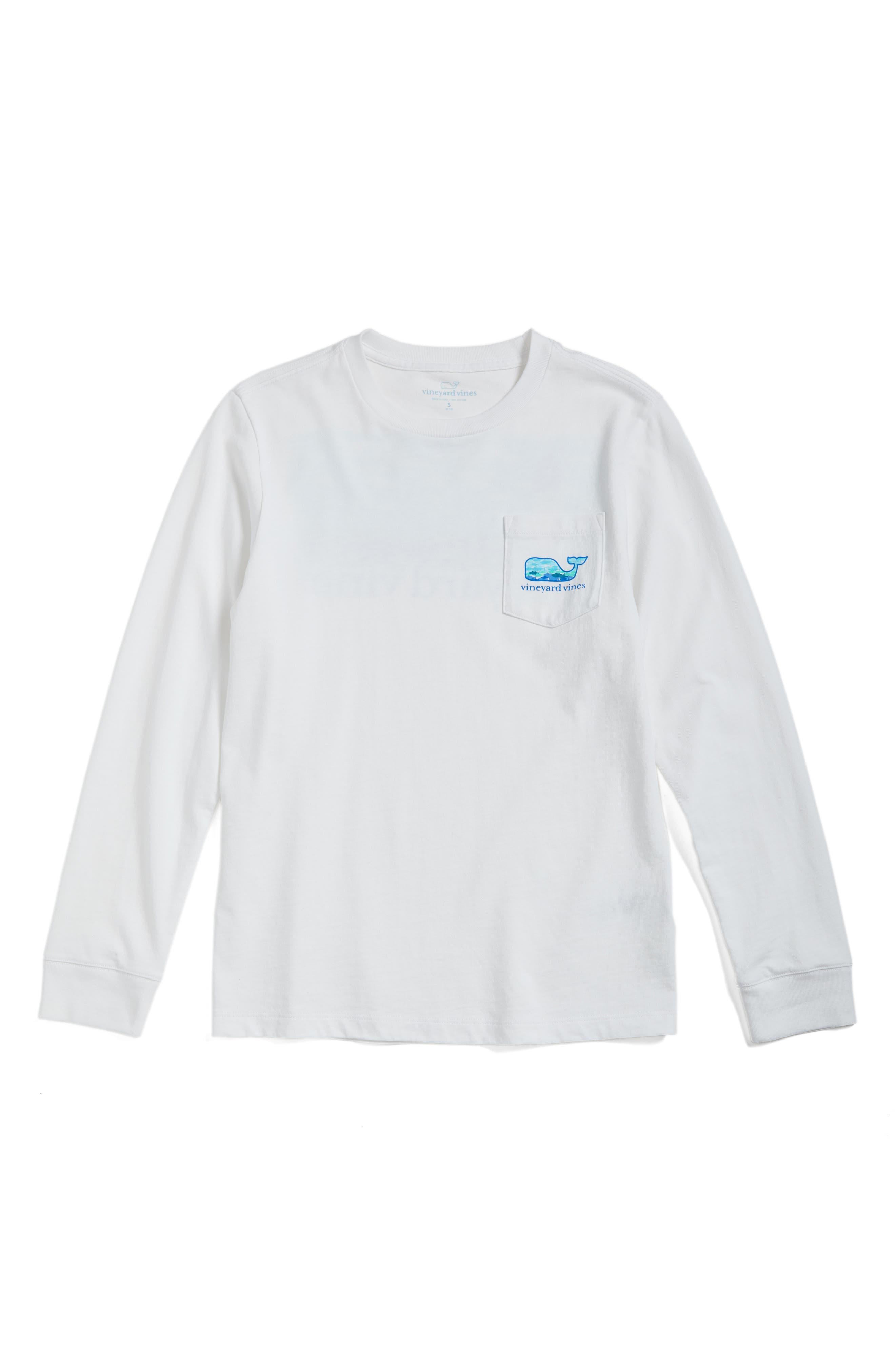 Vineyard Vines Lighthouse Fish Pocket T-Shirt (Big Boys)