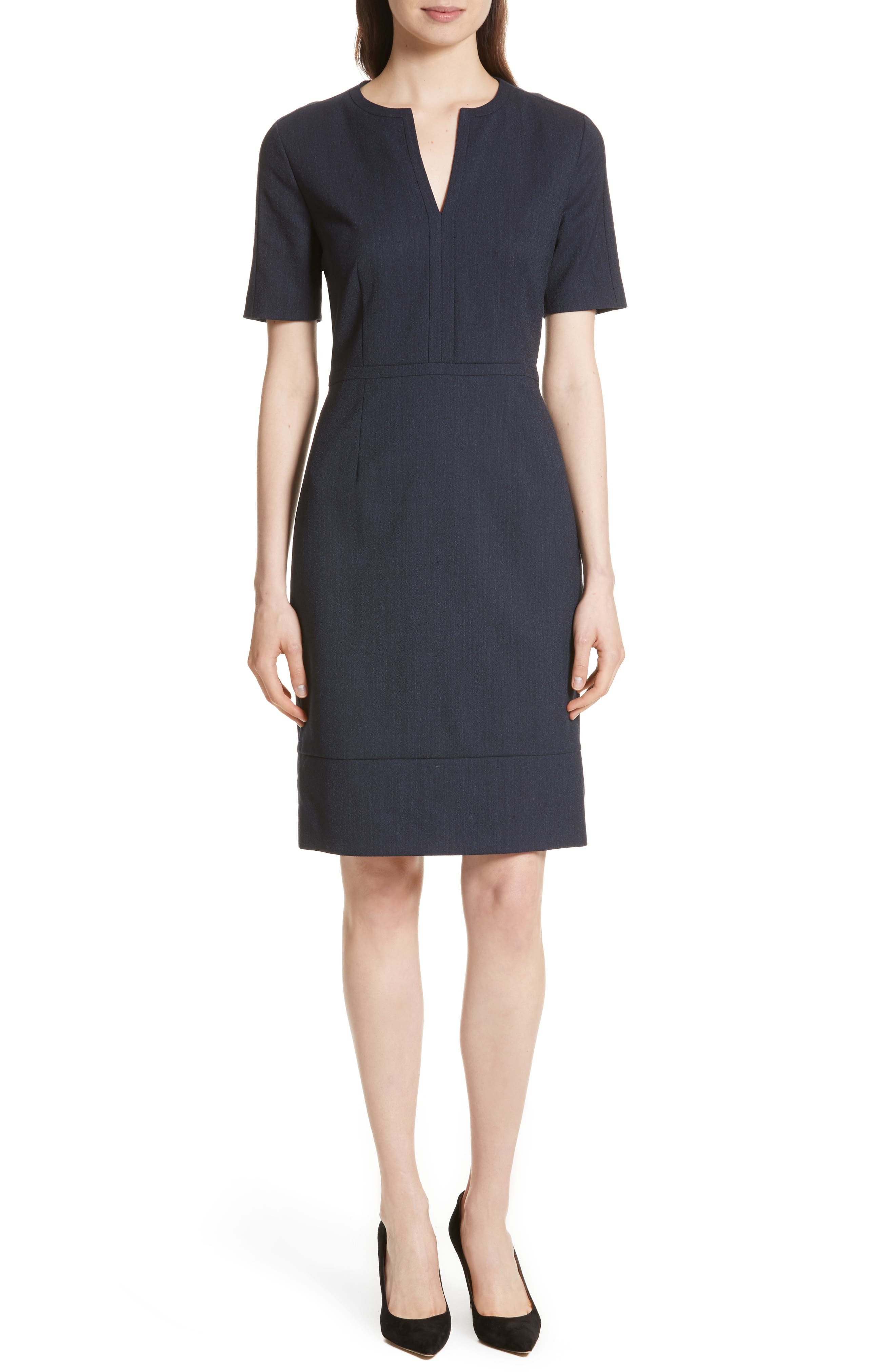BOSS Dalesana Sheath Dress (Regular & Petite)