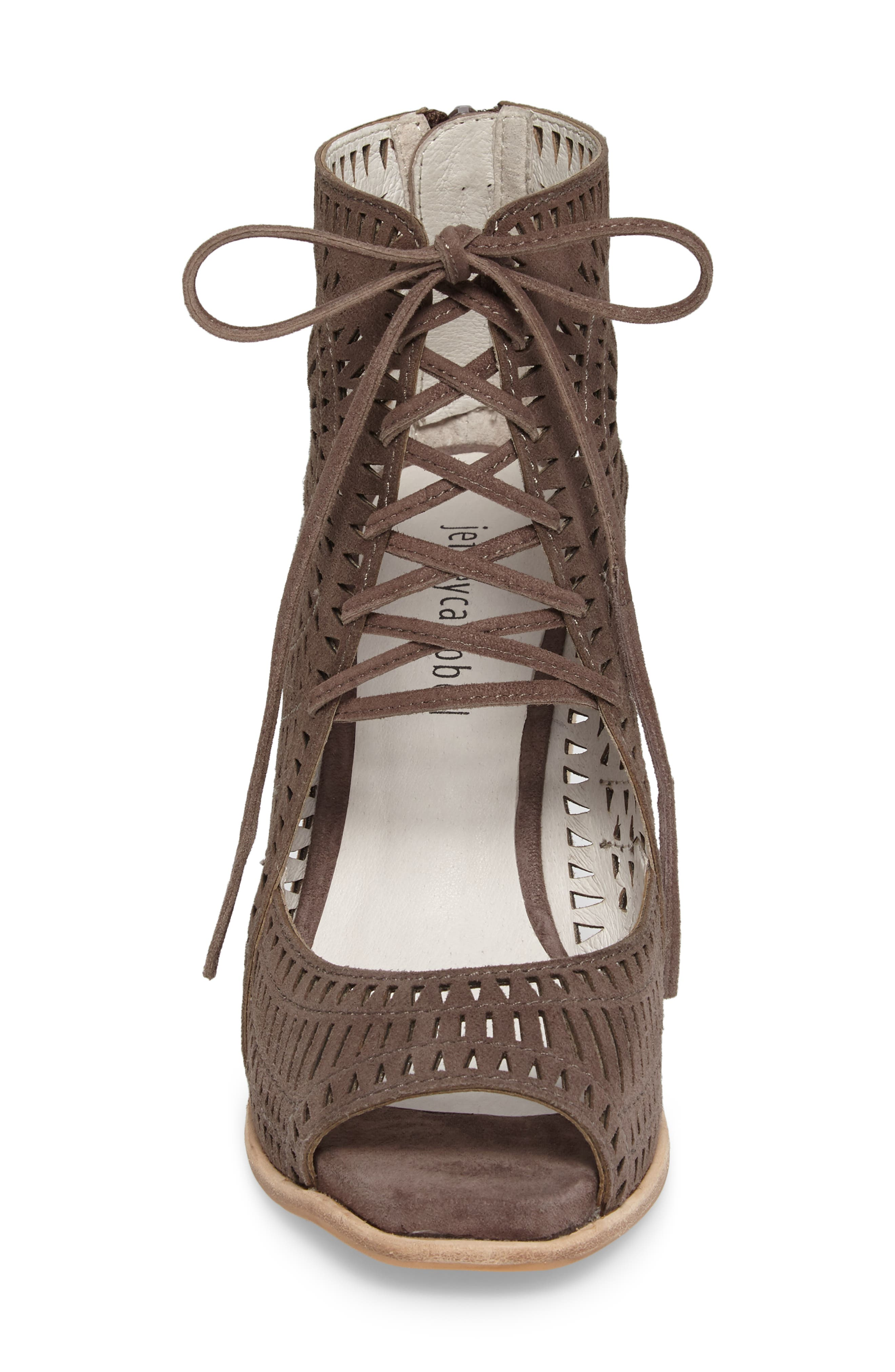 Alternate Image 4  - Jeffrey Campbell Rayos Perforated Wedge Sandal (Women)