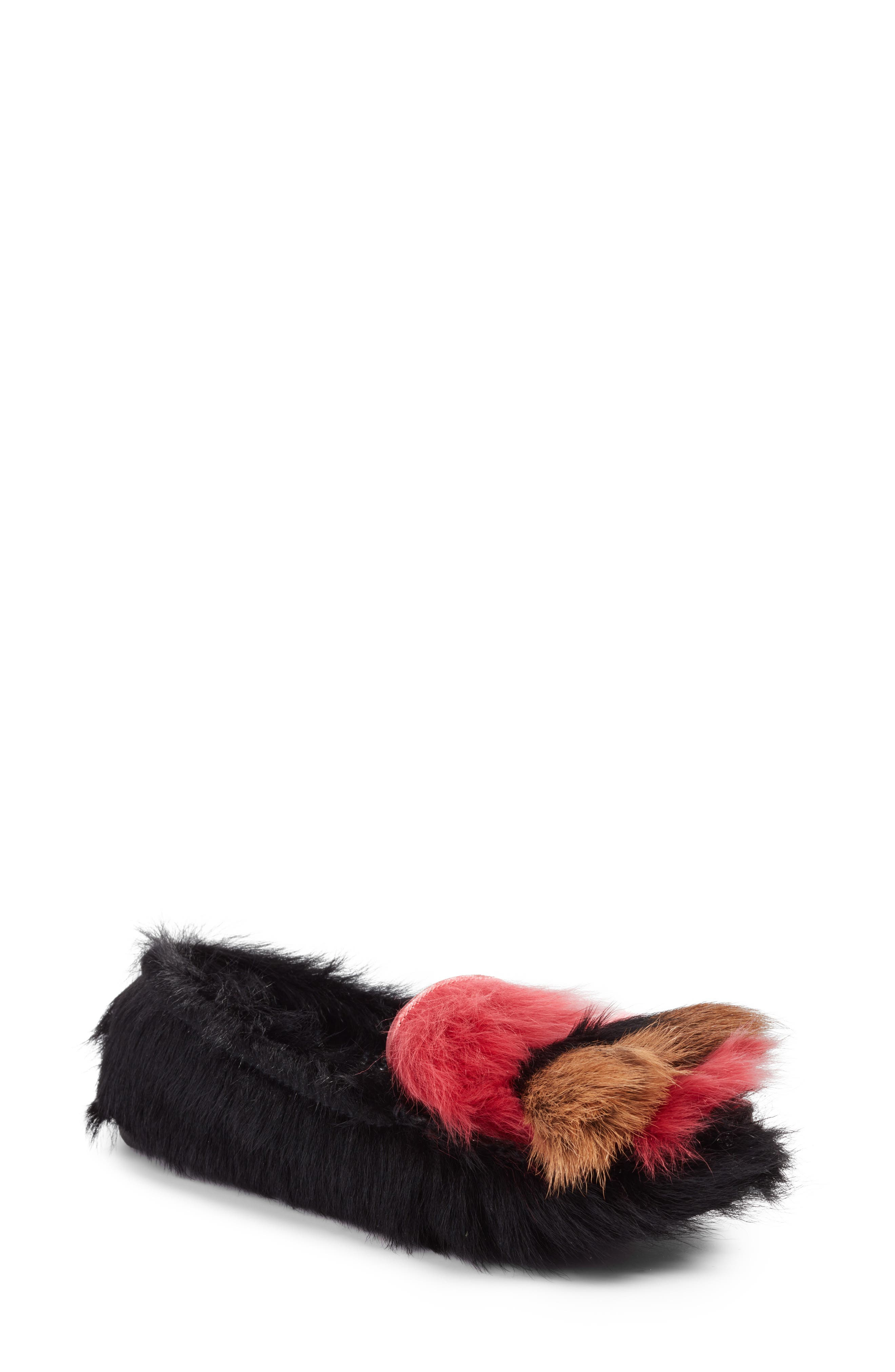 Prada Genuine Goat Hair Loafer (Women)