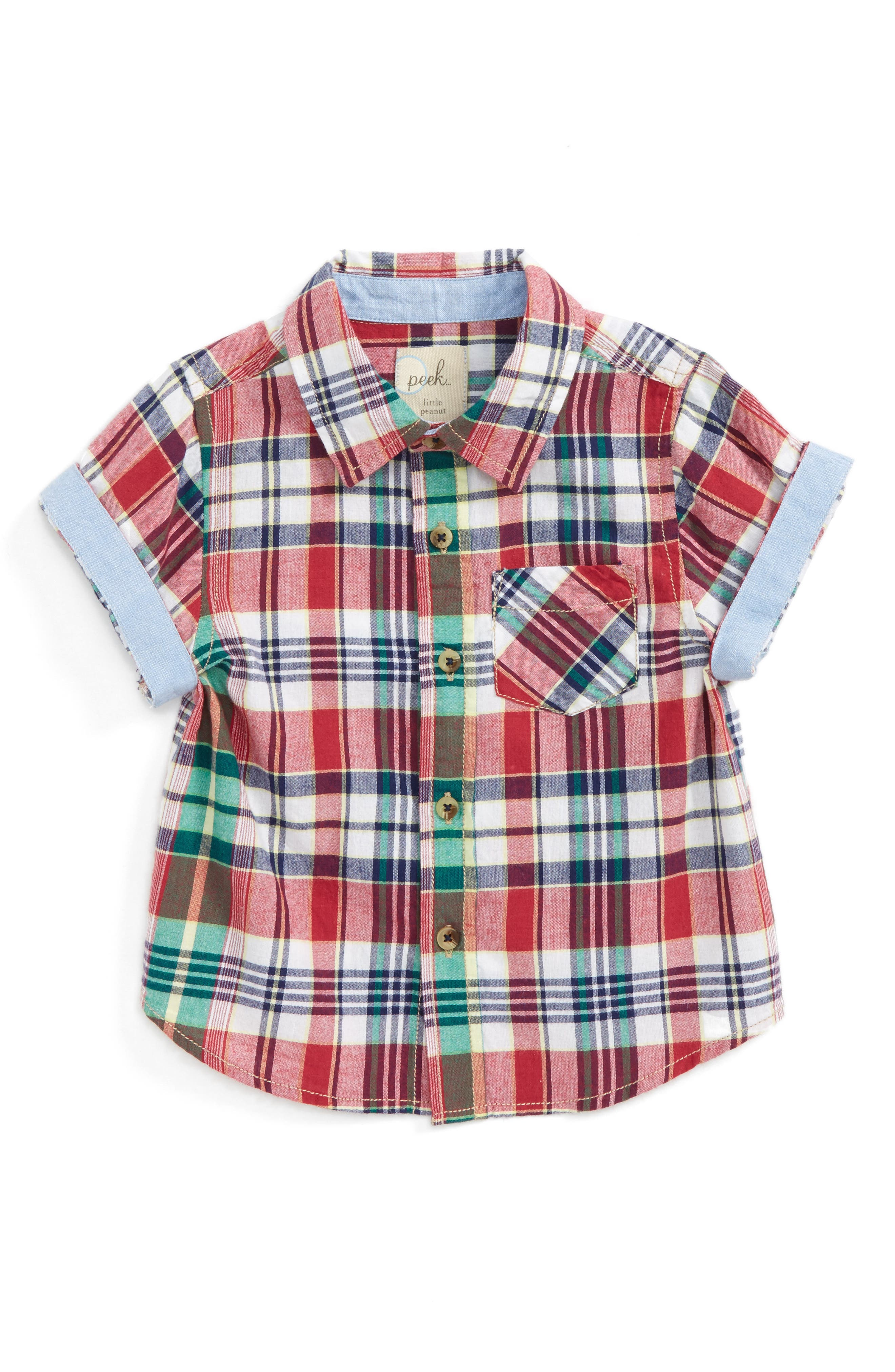 Peek Plaid Woven Shirt (Baby Boys)