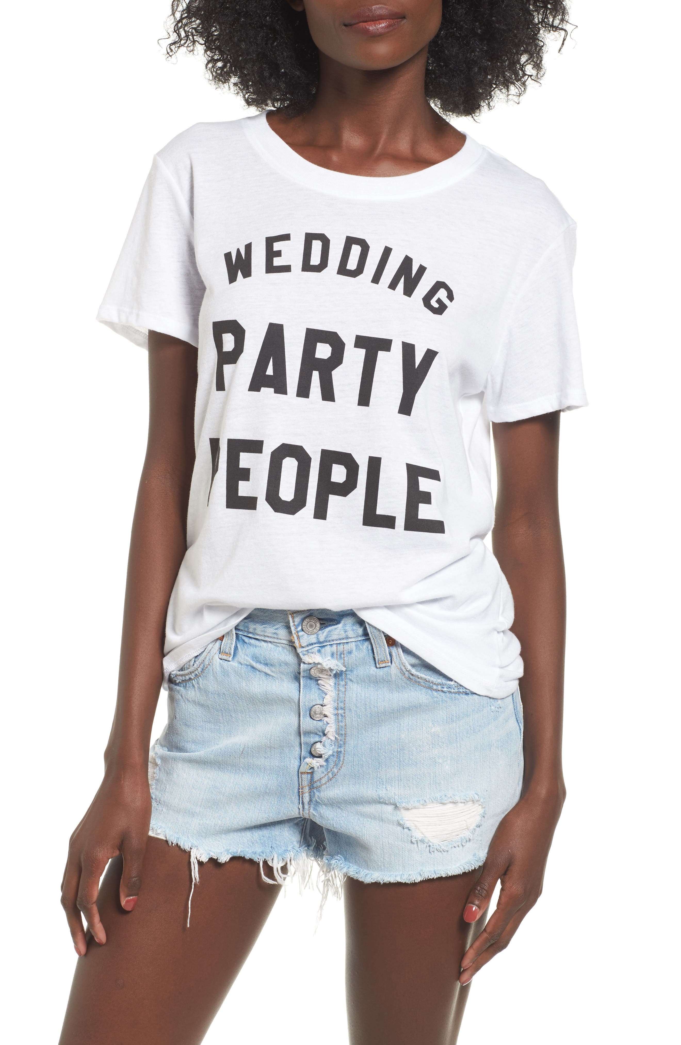 Sub_Urban Riot Wedding Party People Graphic Tee
