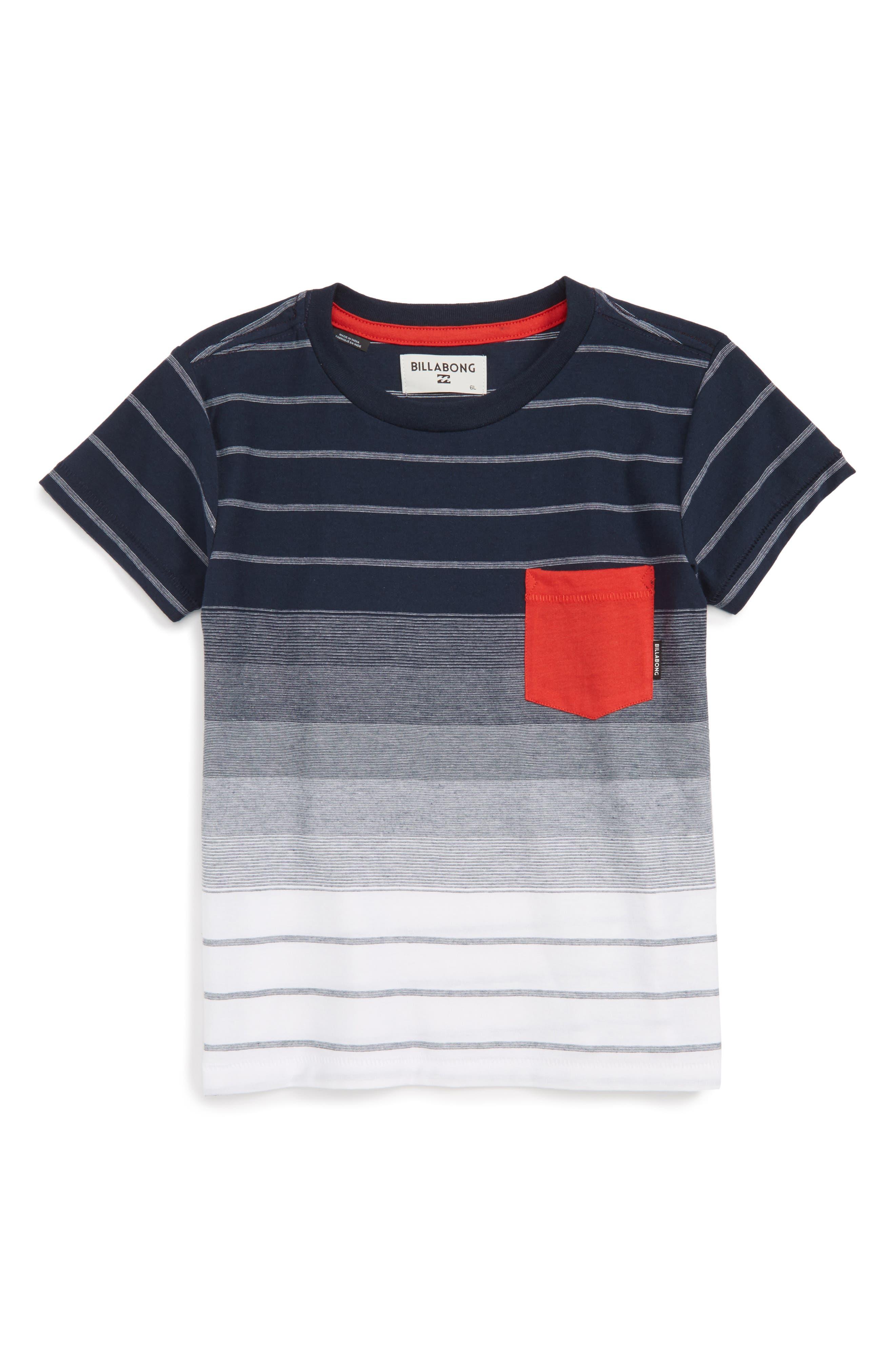 Billabong Faderade Pocket T-Shirt (Toddler Boys, Little Boys & Big Boys)