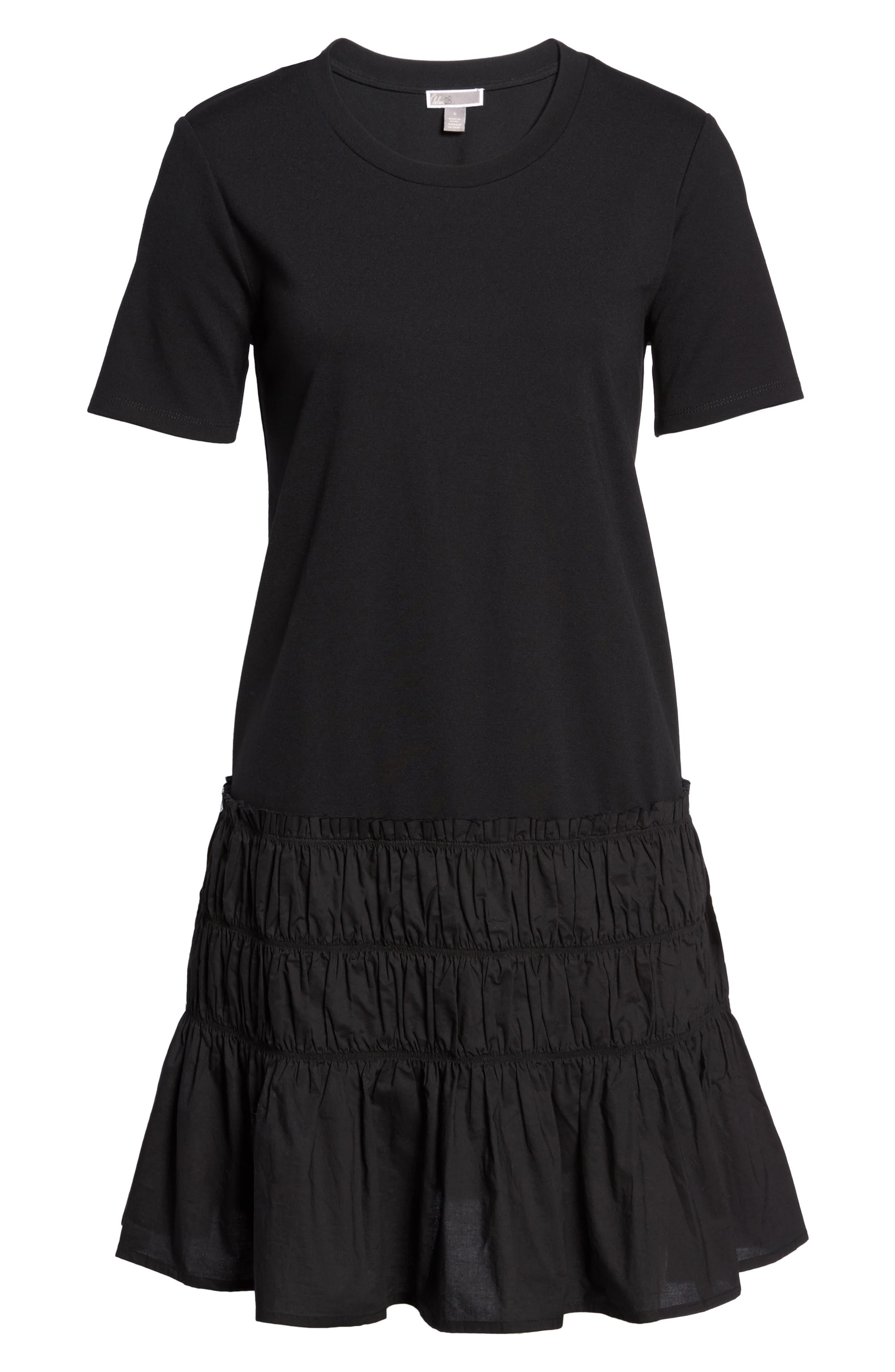 Alternate Image 6  - Chelsea28 Smocked T-Shirt Dress