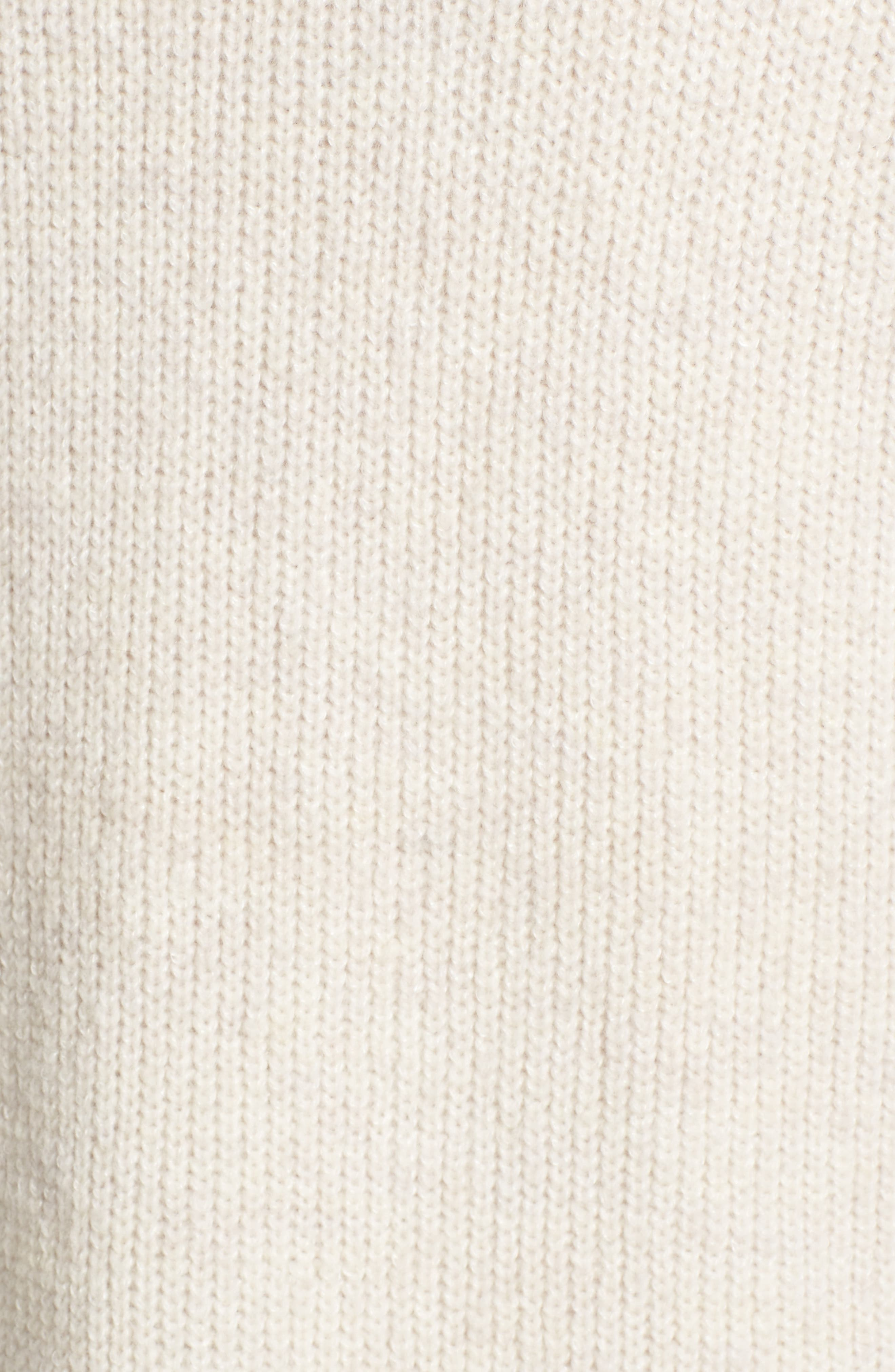 Alternate Image 5  - Halogen® Long Ribbed Cardigan (Regular & Petite)