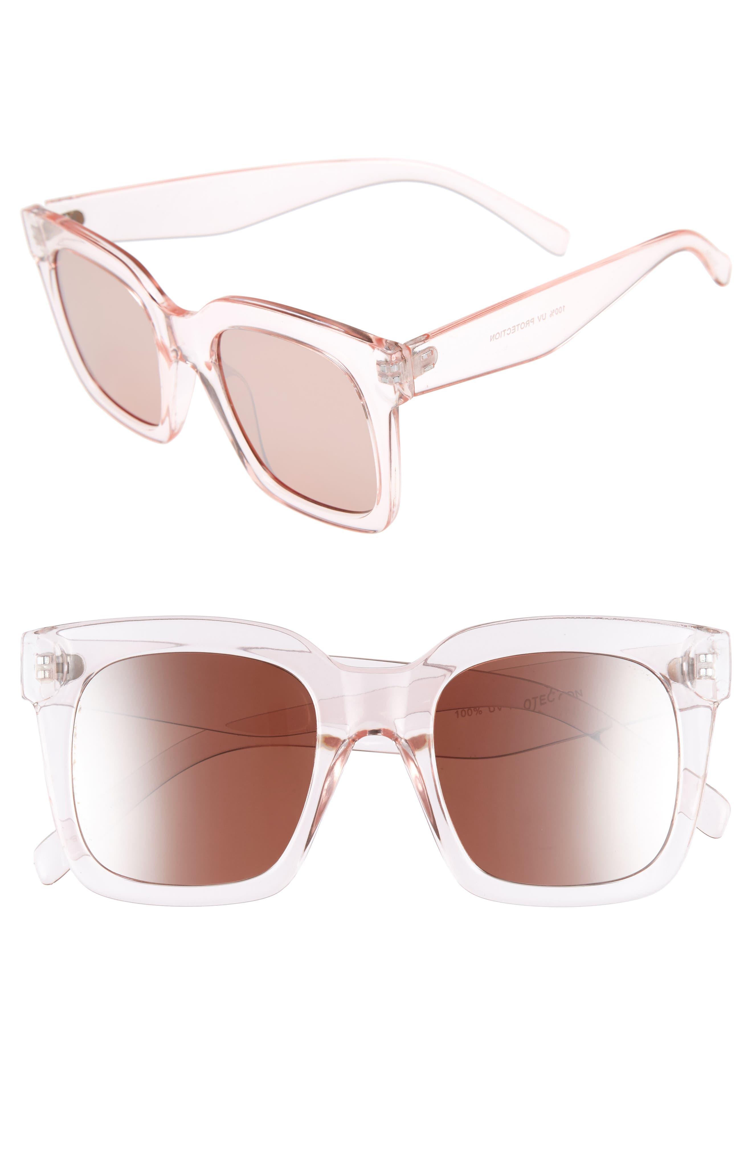 BP. 50mm Square Sunglasses