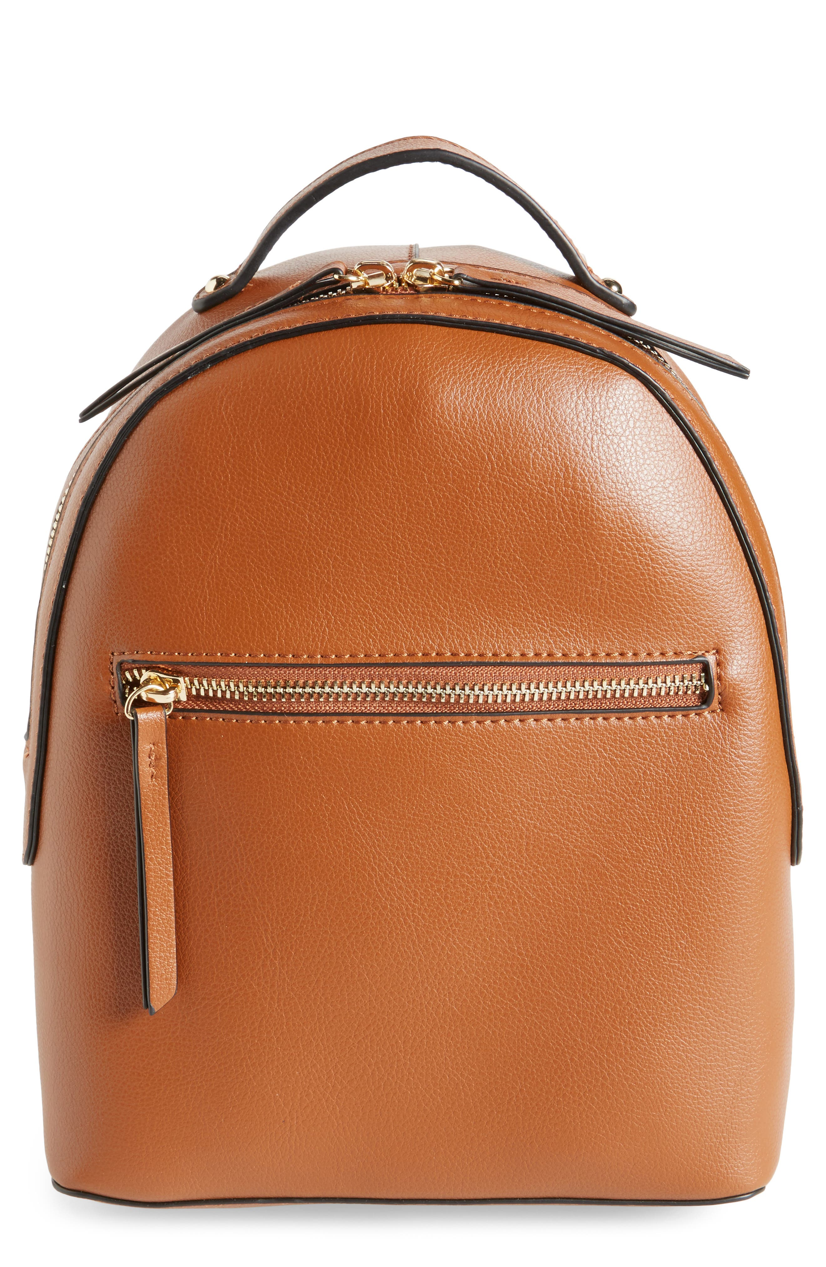Emperia Brook Faux Leather Backpack