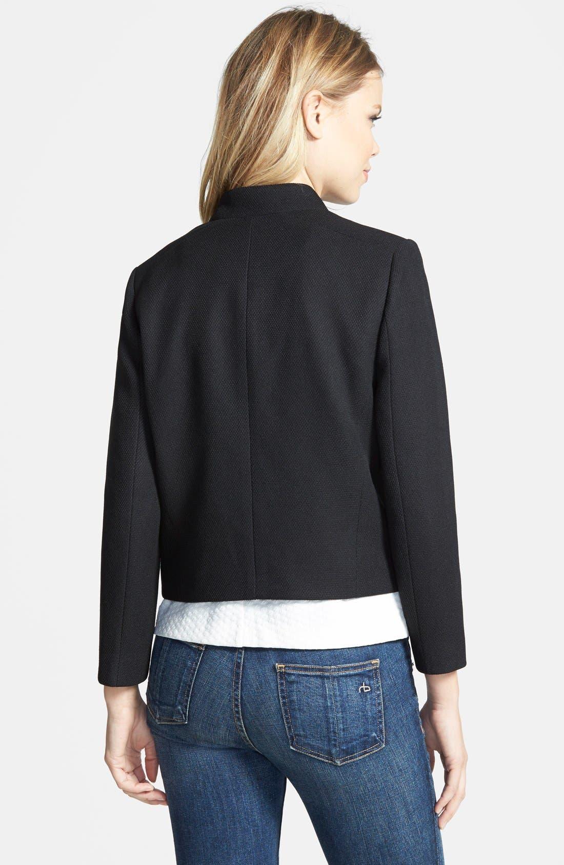 Alternate Image 2  - Chelsea28 Textured Shell Jacket