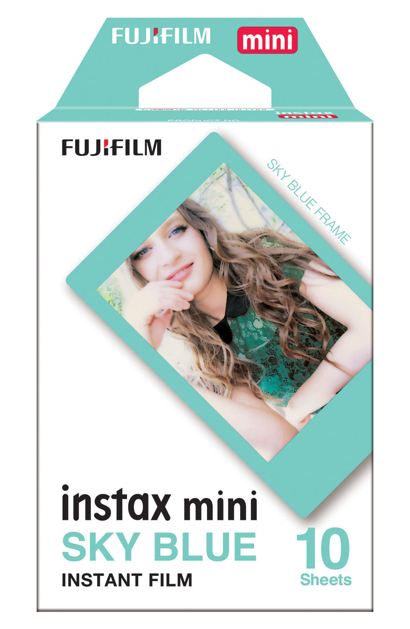 Fujifilm instax® mini Sky Blue Frame Instant Film