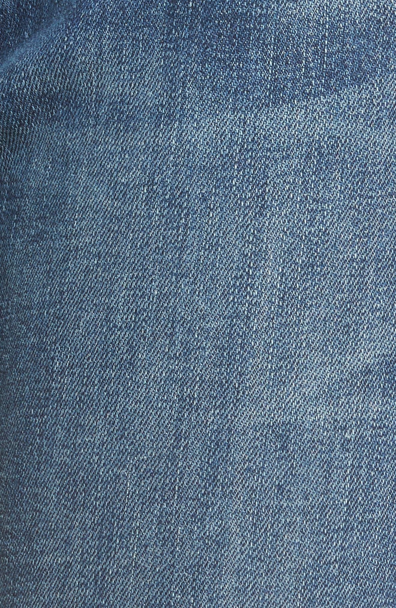 Alternate Image 6  - rag & bone/JEAN The Dre Released Hem Slim Boyfriend Jeans (Amelie)