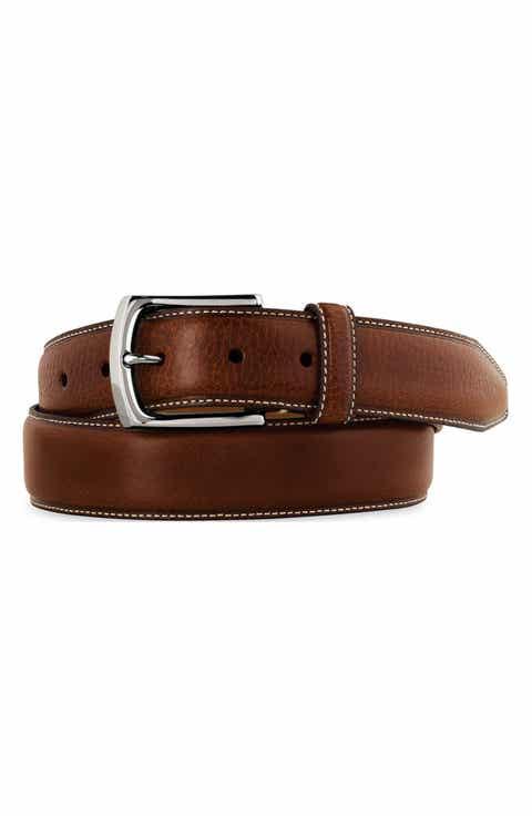 Johnston   Murphy Calfskin Leather Belt