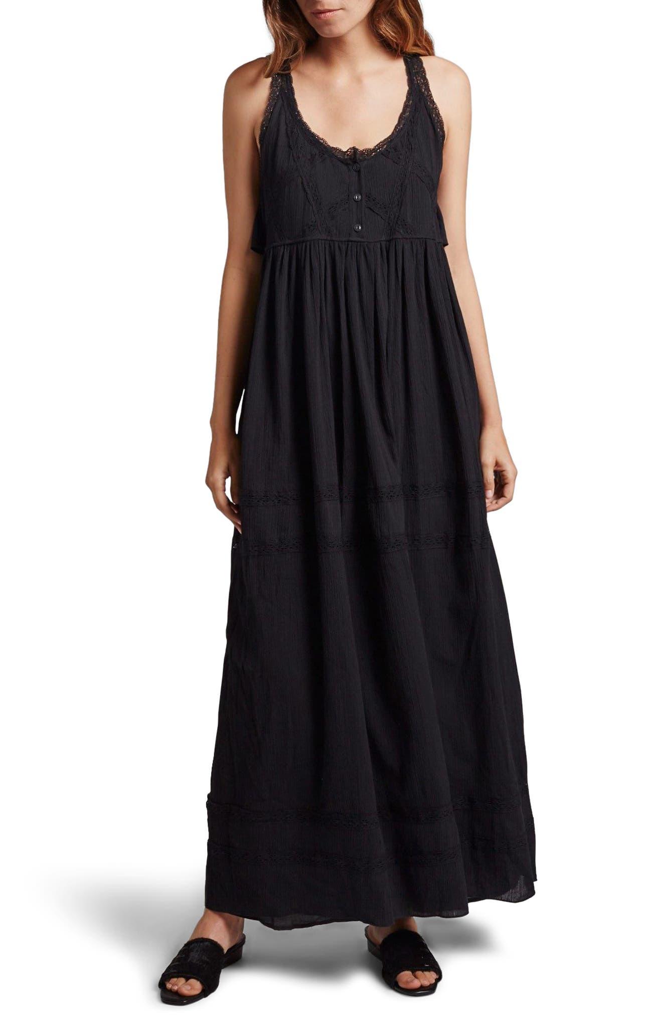 Current/Elliott Lace Maxi Dress