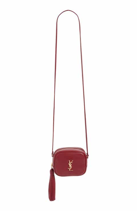 Saint Laurent 'Monogram Mini Blogger' Crossbody Bag