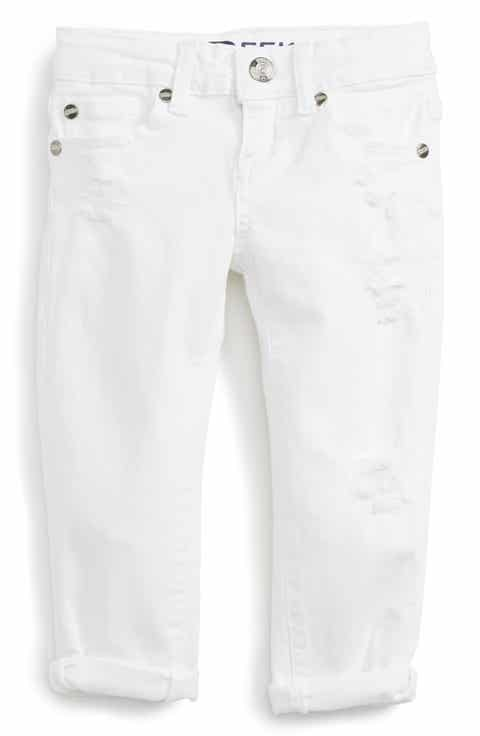 Girls' White Jeans: Skinny, Boot Cut, Printed & Colored   Nordstrom
