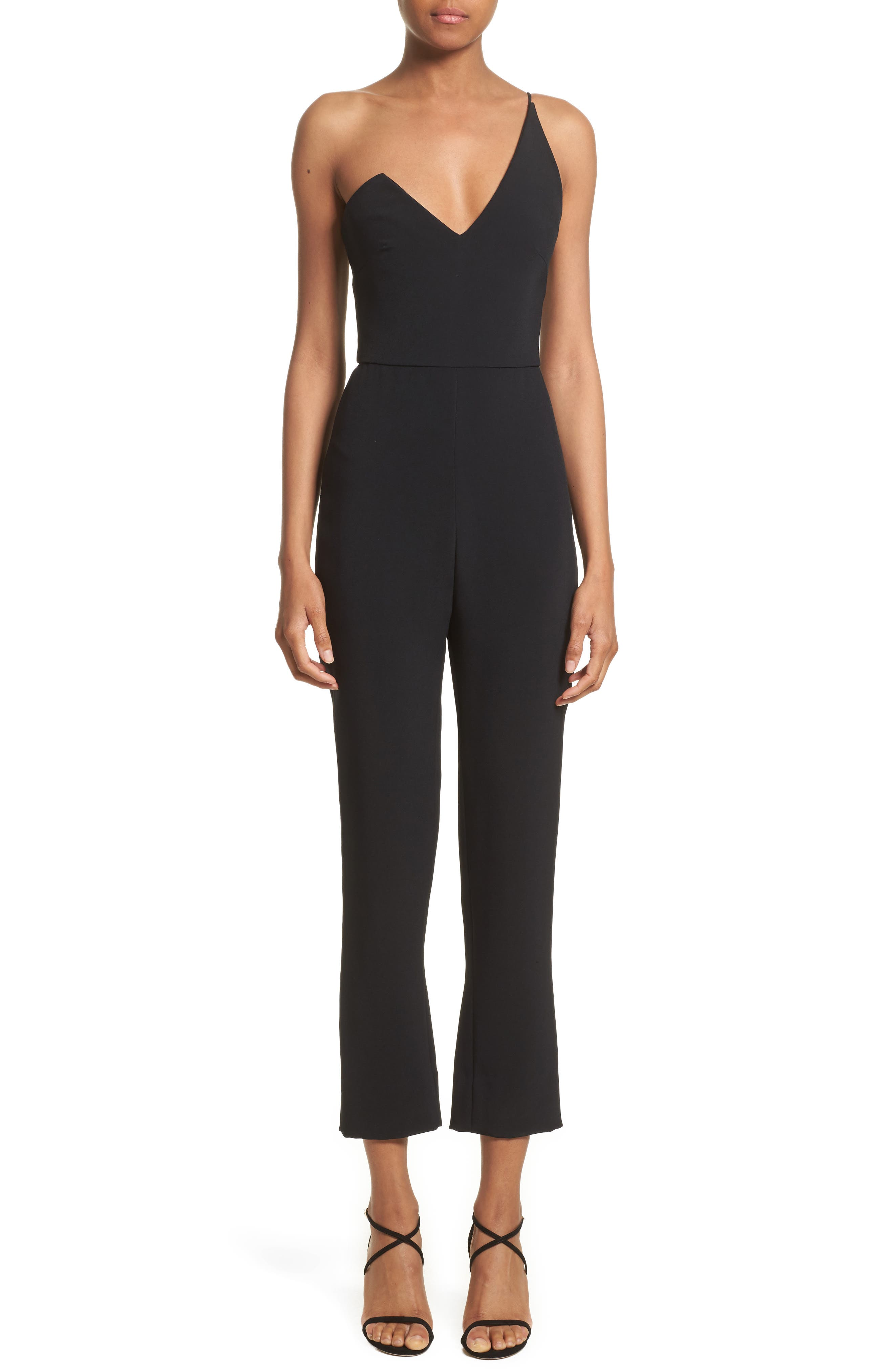 Cushnie et Ochs One-Shoulder Jumpsuit