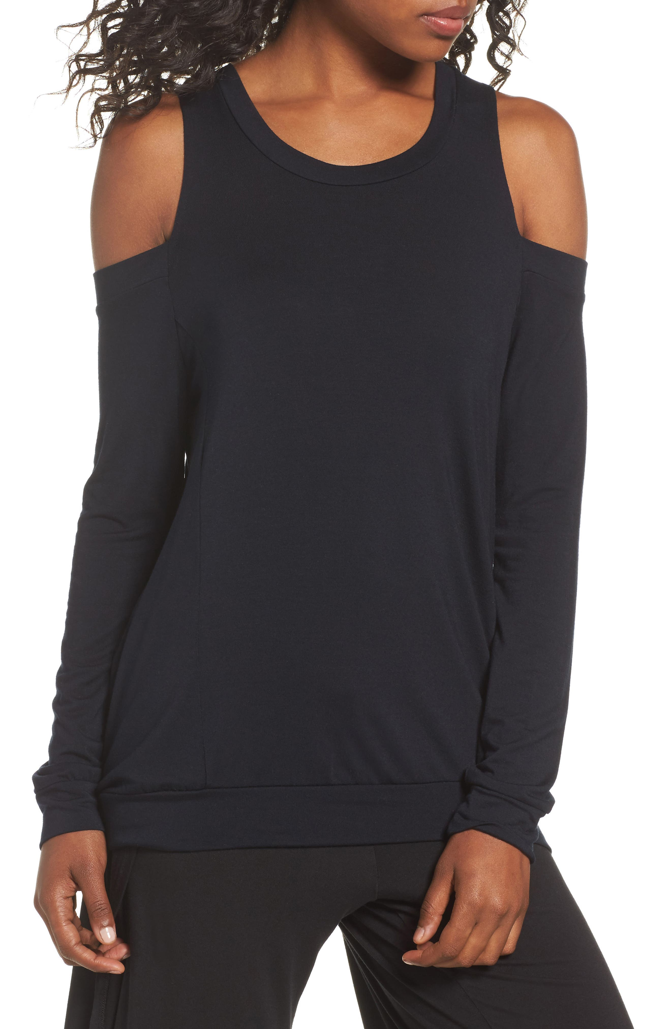 Olympia Theodora Roma Cold Shoulder Pullover