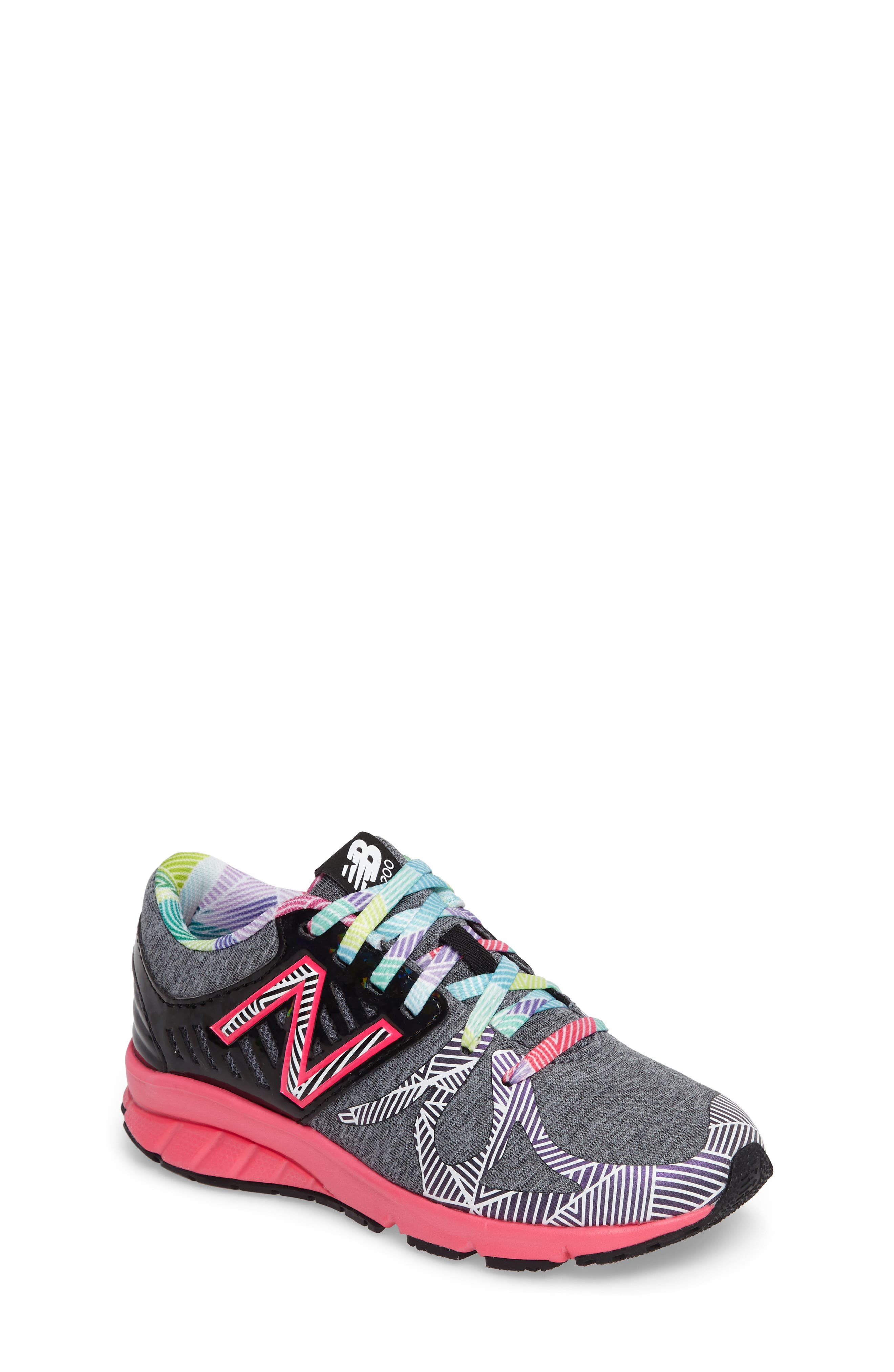 New Balance 200 Electric Rainbow Athletic Shoe (Toddler, Little Kid & Big Kid)