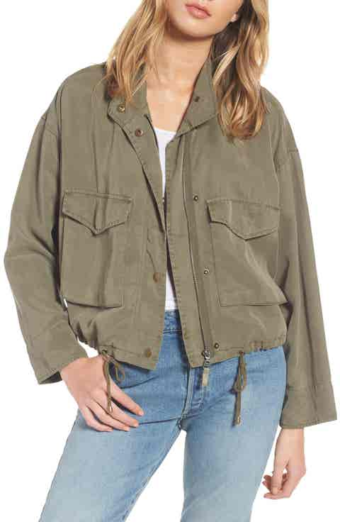 Splendid Wilder Tencel® Crop Utility Jacket