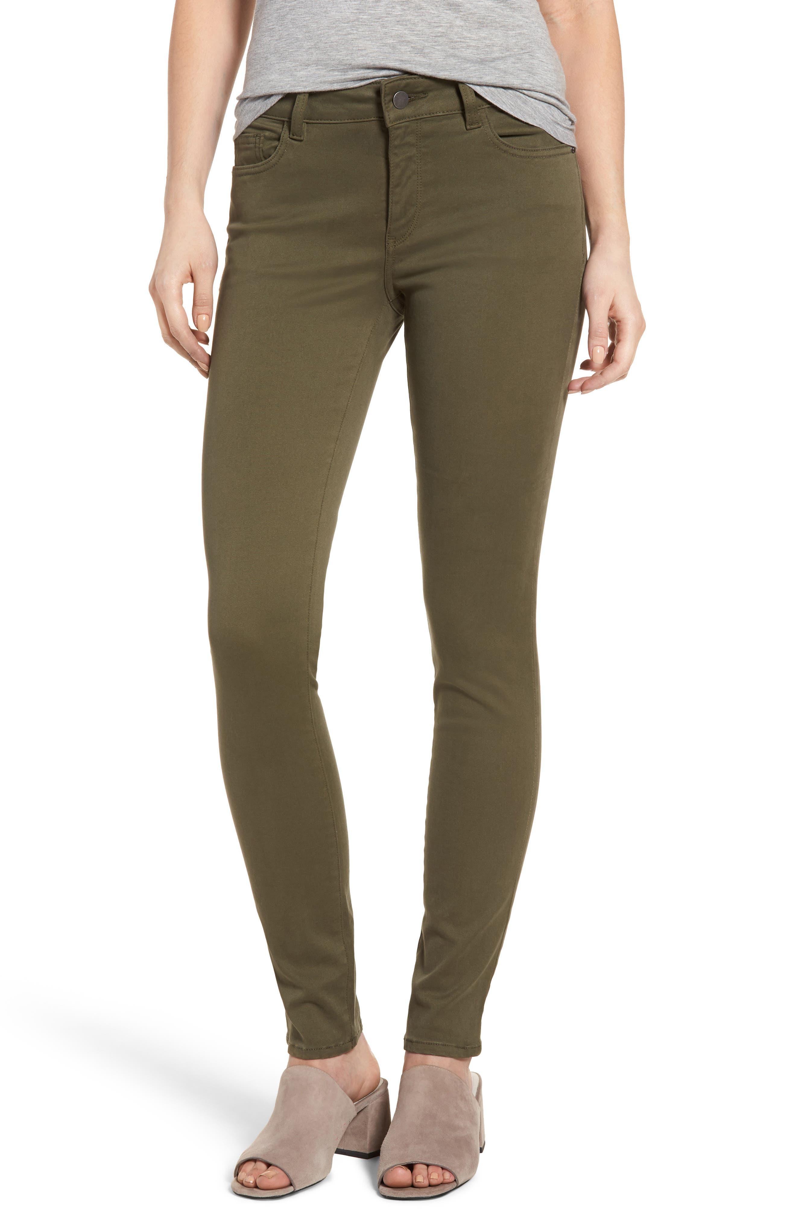 DL1961 Florence Instasculpt Skinny Jeans (Clover)