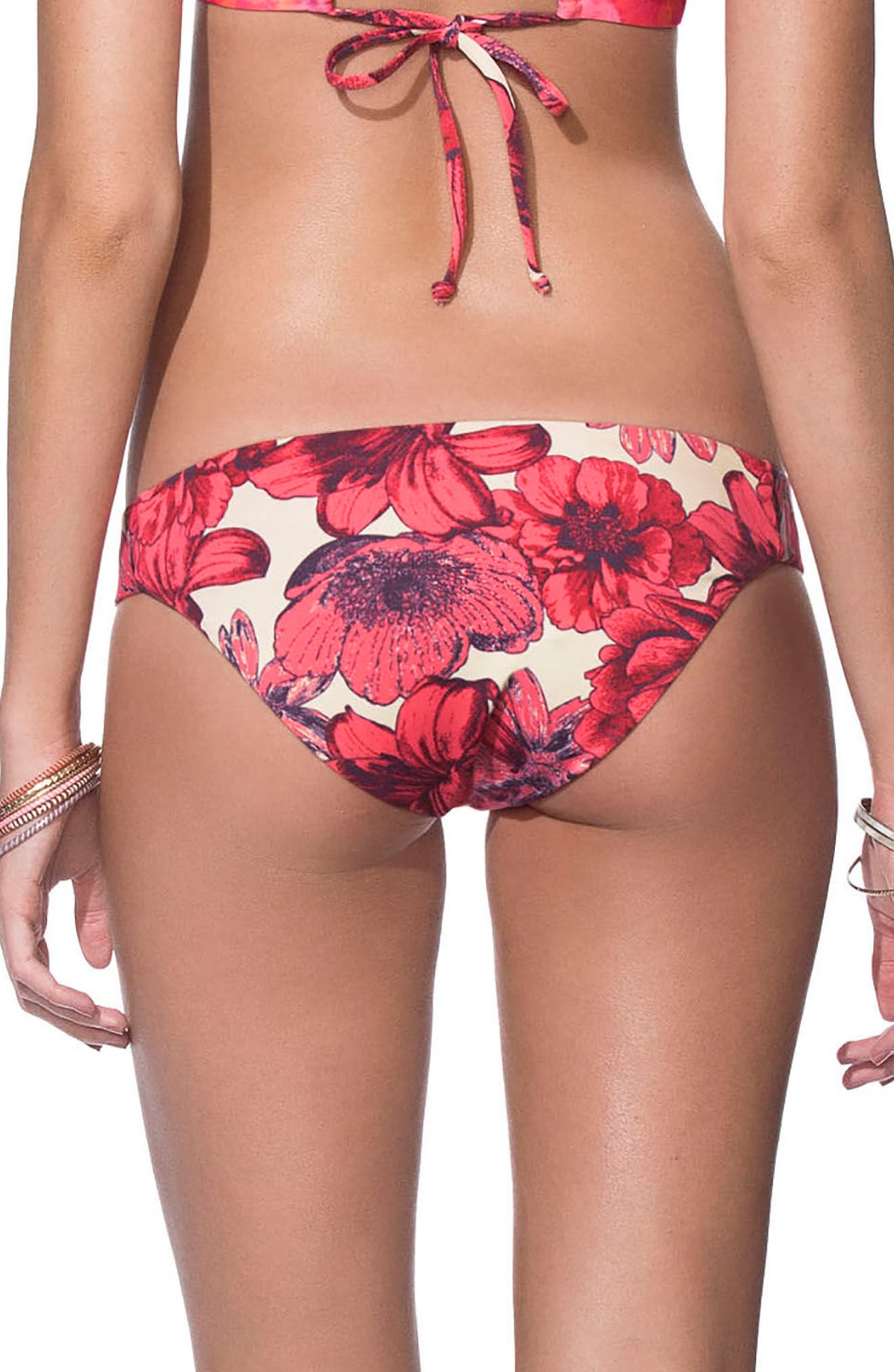 Maaji Softy Photo Signature Cut Reversible Bikini Bottoms