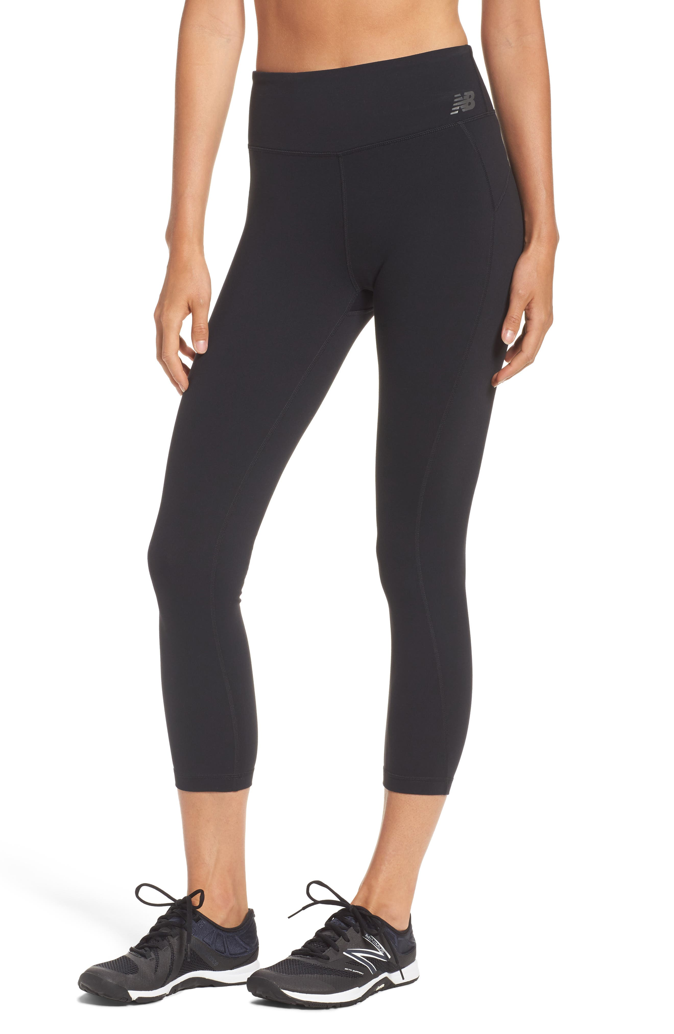 New Balance 71149 High Waist Crop Leggings