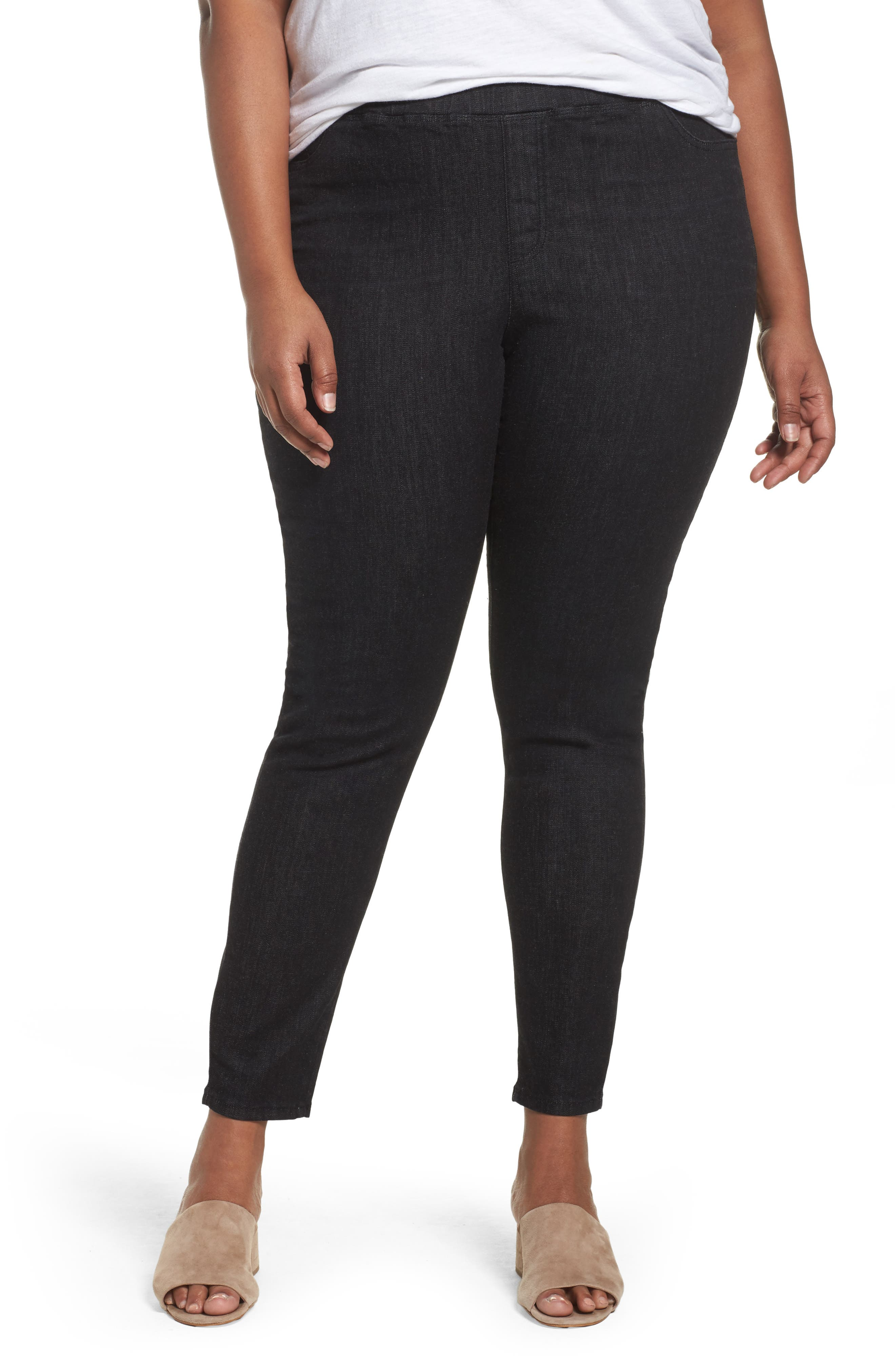 Eileen Fisher Denim Leggings (Plus Size)